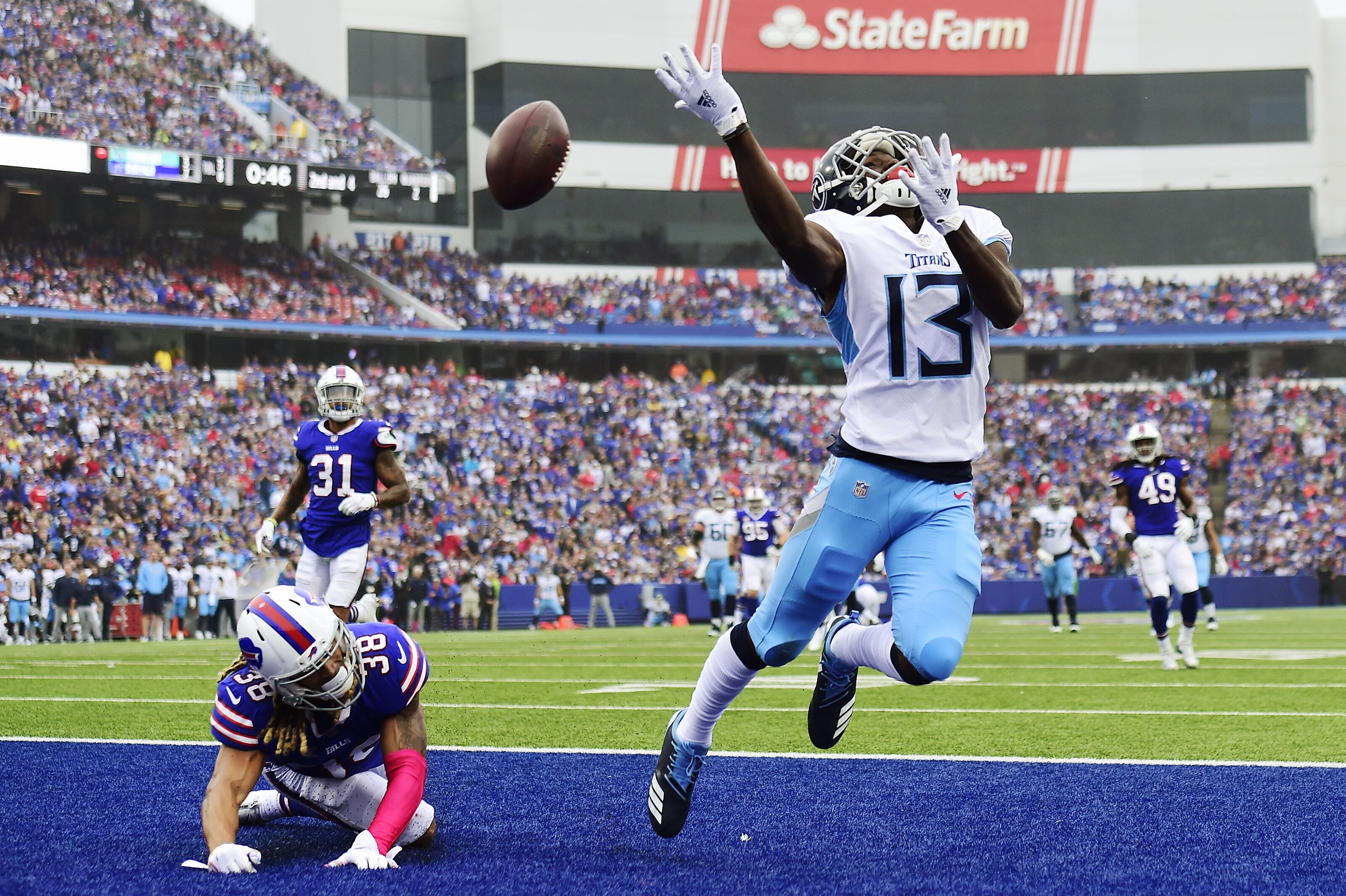Taywan Taylor spilling Tennessee Titans beans to Cleveland Browns