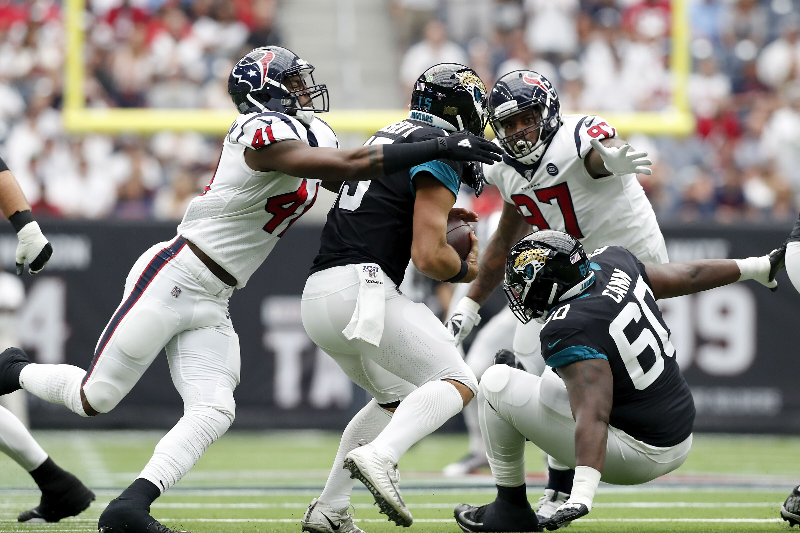 Jacksonville Jaguars just gave the Tennessee Titans defense a gift