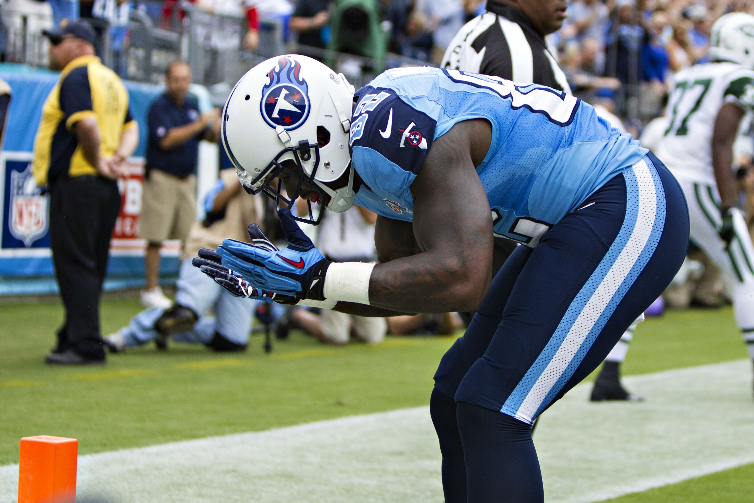 Tennessee Titans Delanie Walker getting no respect from David Carr