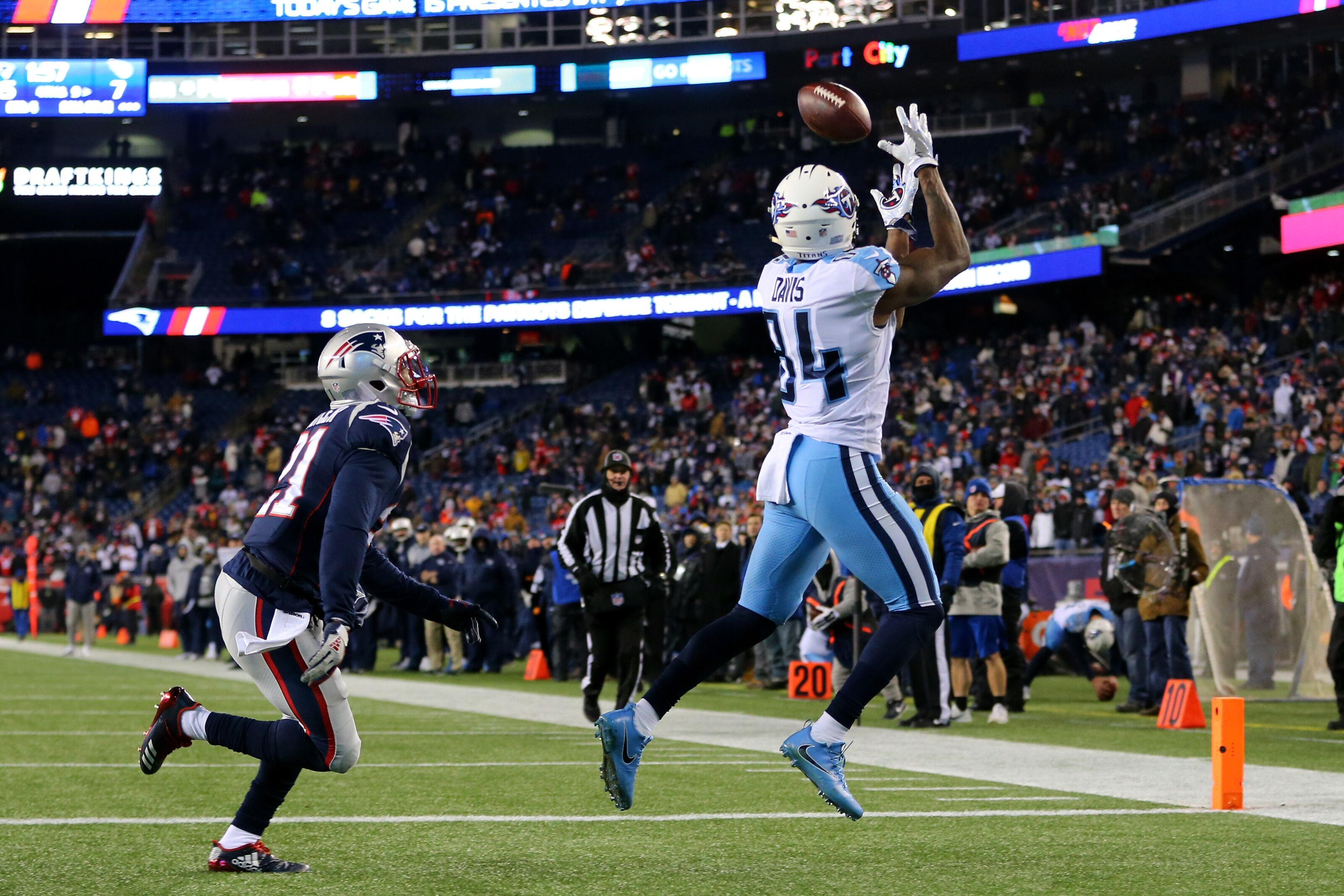 Is Corey Davis' fantasy value hurt by Adam Humphries and A.J. Brown?
