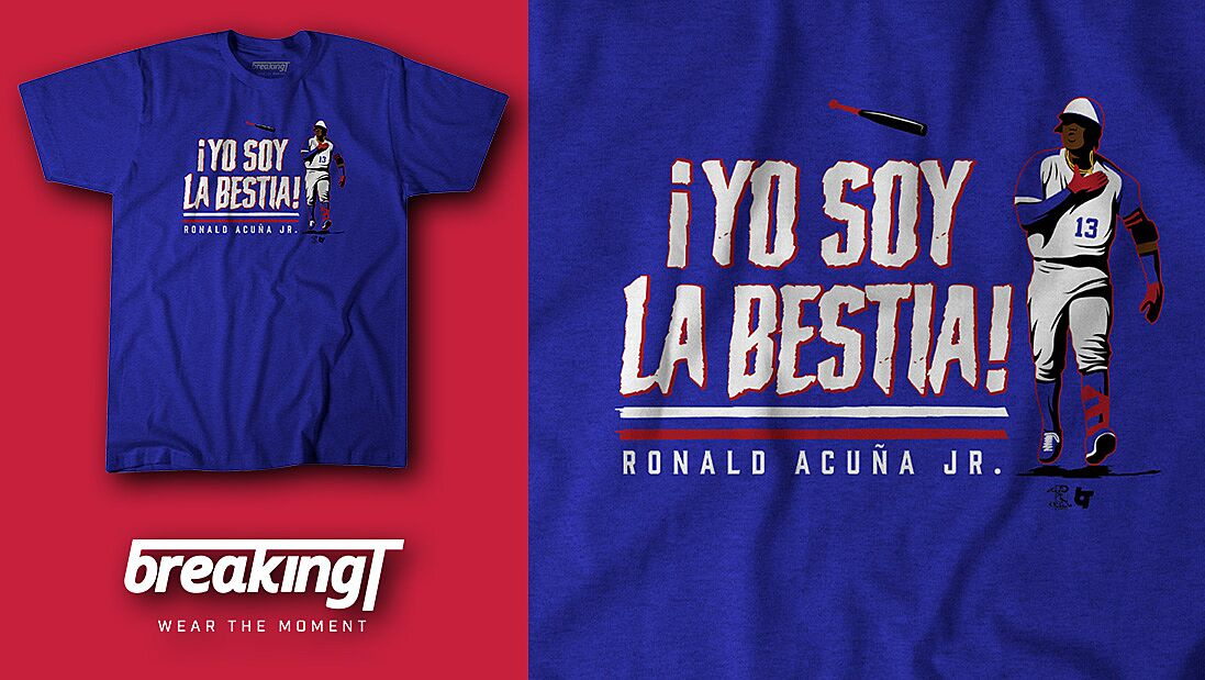 check out e2918 ff98a Atlanta Braves fans need this Ronald Acuna Jr. shirt