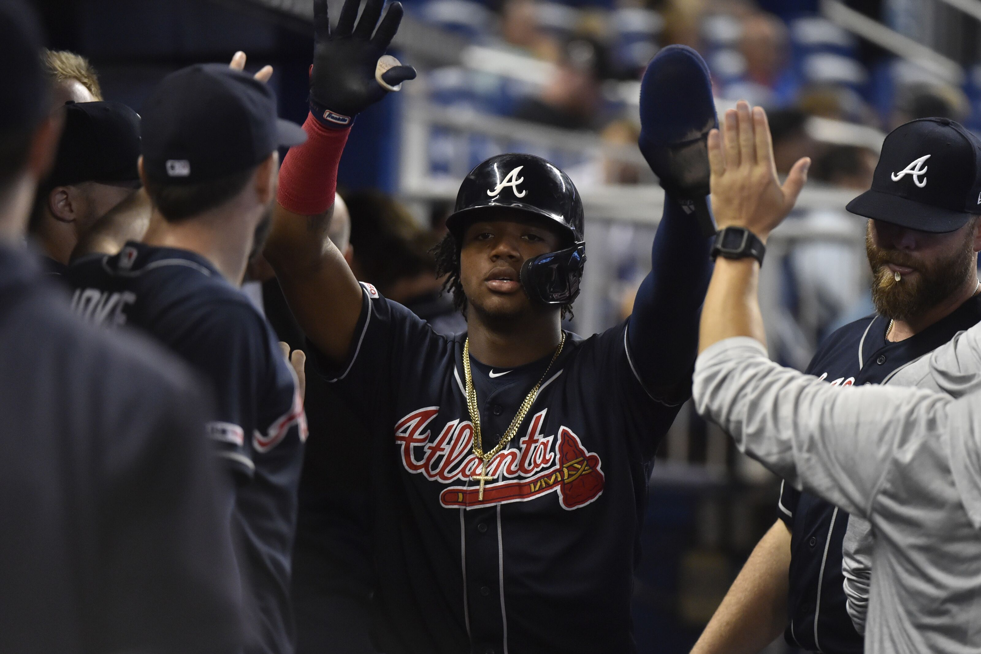Atlanta Braves: Ronald Acuna pimps a single, gets benched