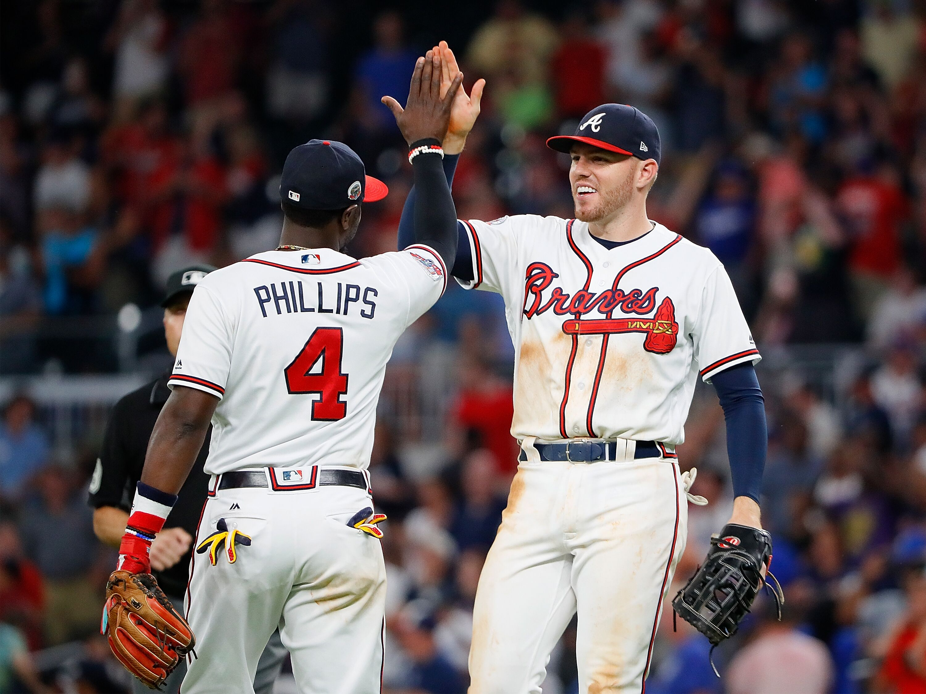 The Atlanta Braves ended a 53 game streak…the longest streak in MLB history!