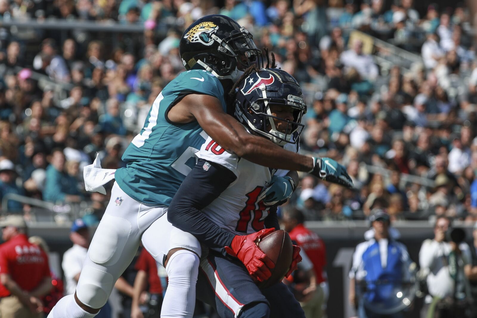 How does Jalen Ramsey trade affect the Houston Texans, AFC South?