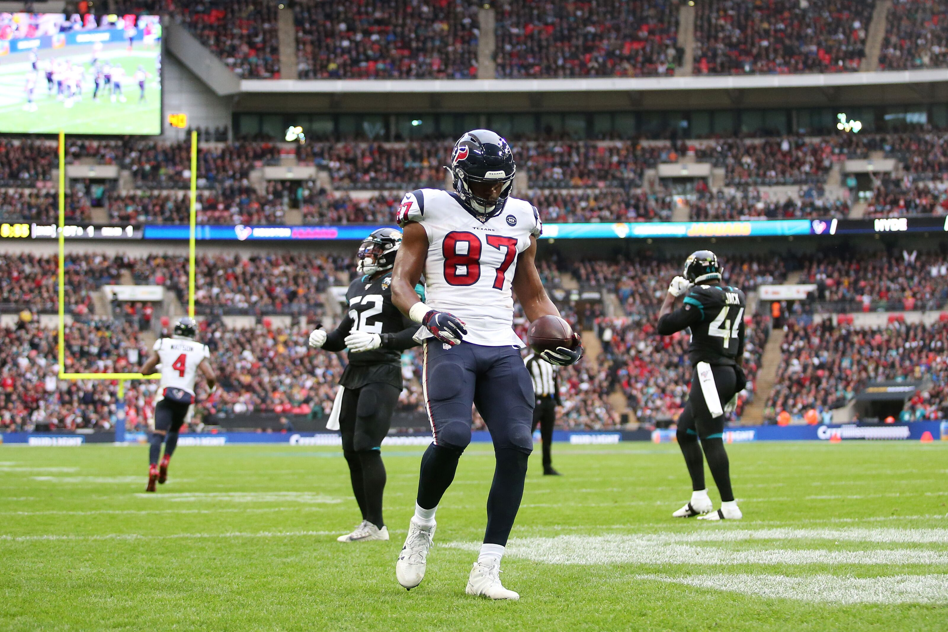 Houston Texans Darren Fells Deserves Bye Week Praise