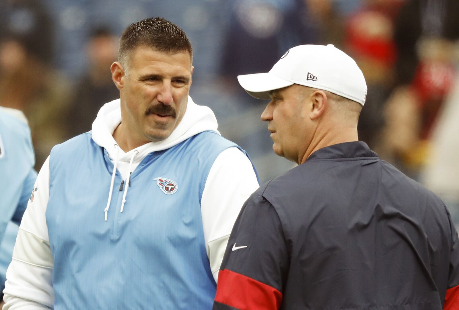Should the Houston Texans kept Mike Vrabel over Bill O'Brien?