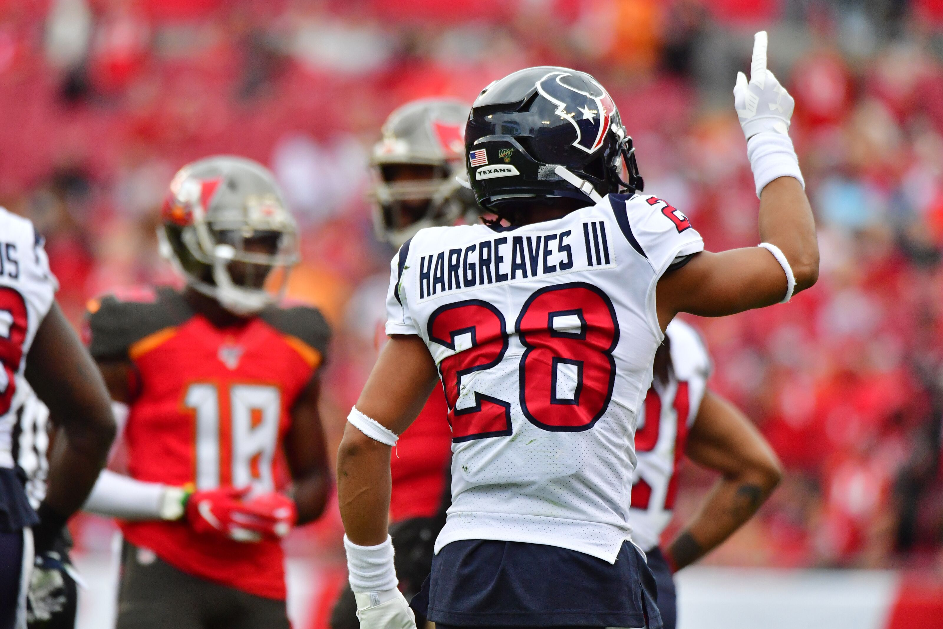 Vernon Hargreaves III poses an intriguing decision for the Houston Texans