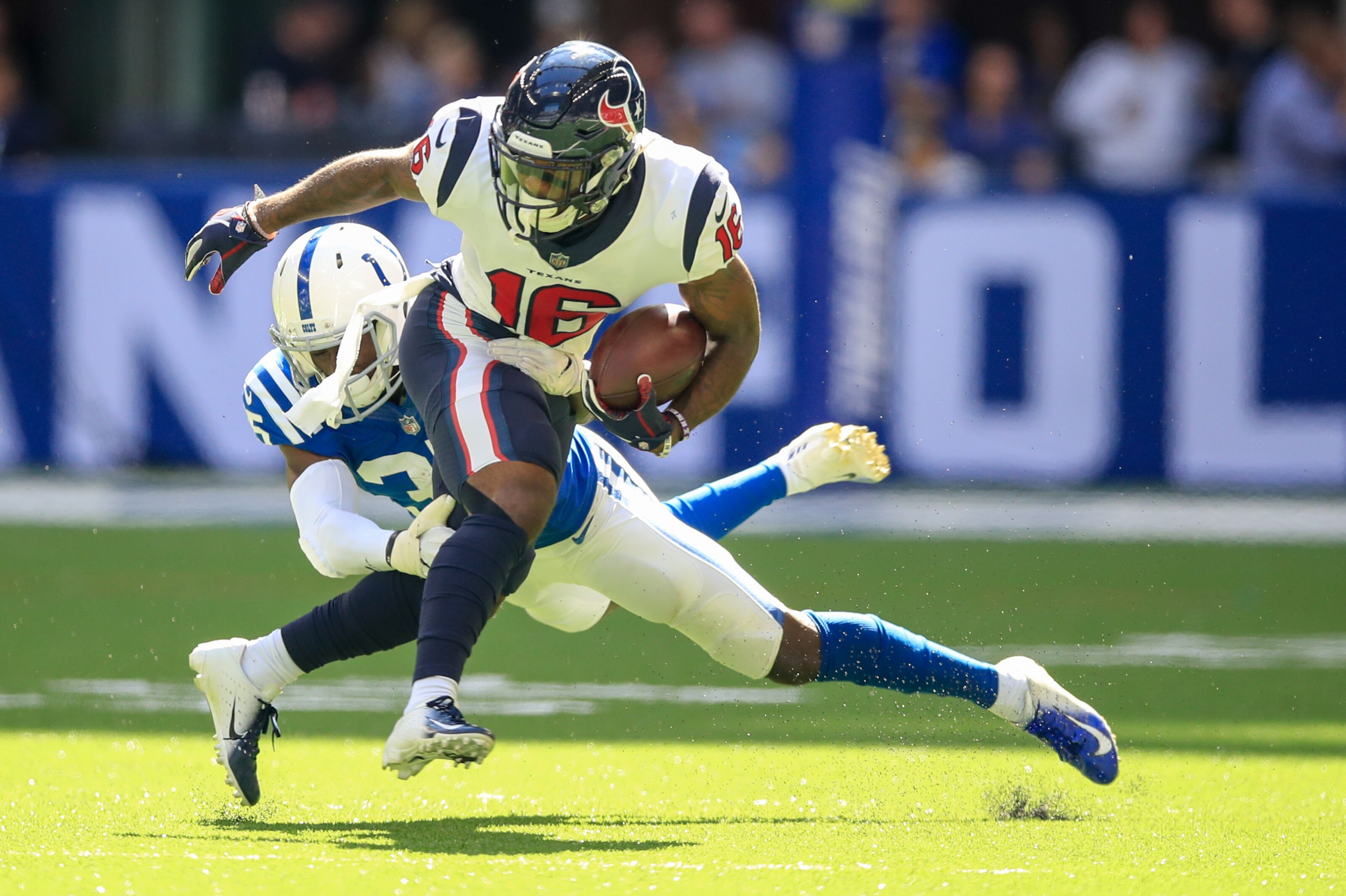 more photos 90af5 4e28b Houston Texans: Keke Coutee passes DeAndre Hopkins in record ...