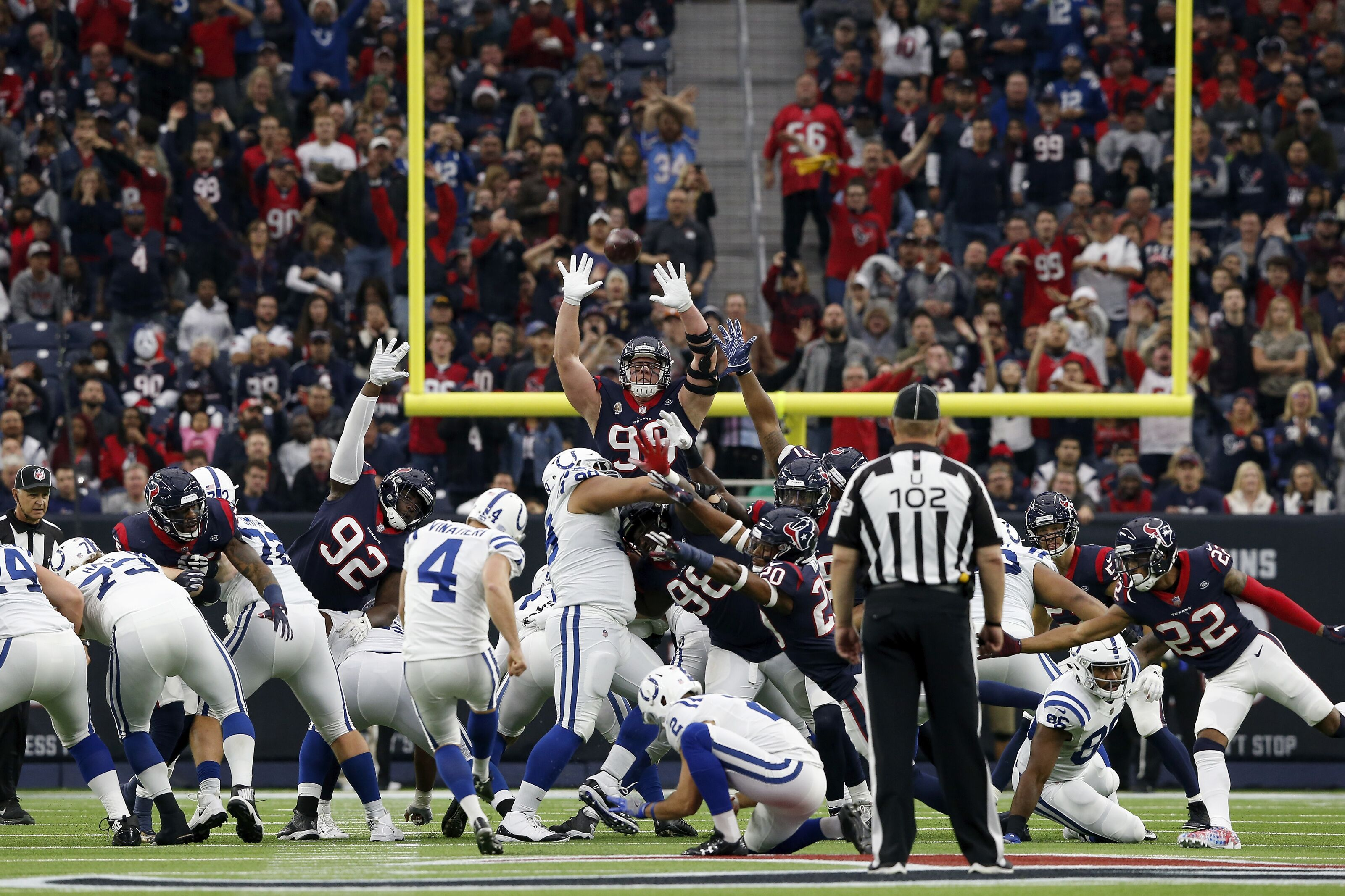 205d5927 Houston Texans Wild Card Playoffs: Favorites vs. Indianapolis Colts