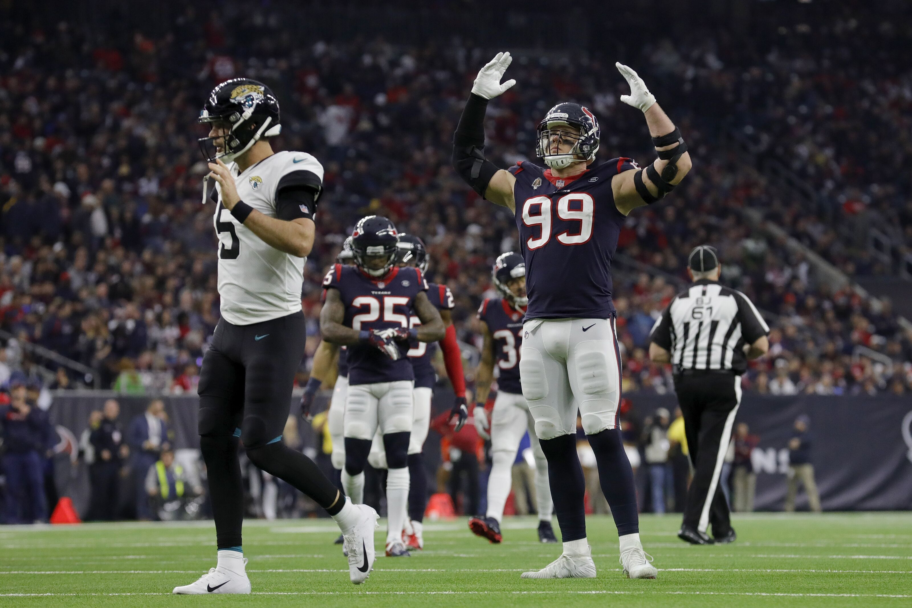Houston Texans ranked 2nd best run defense by Pro Football ...