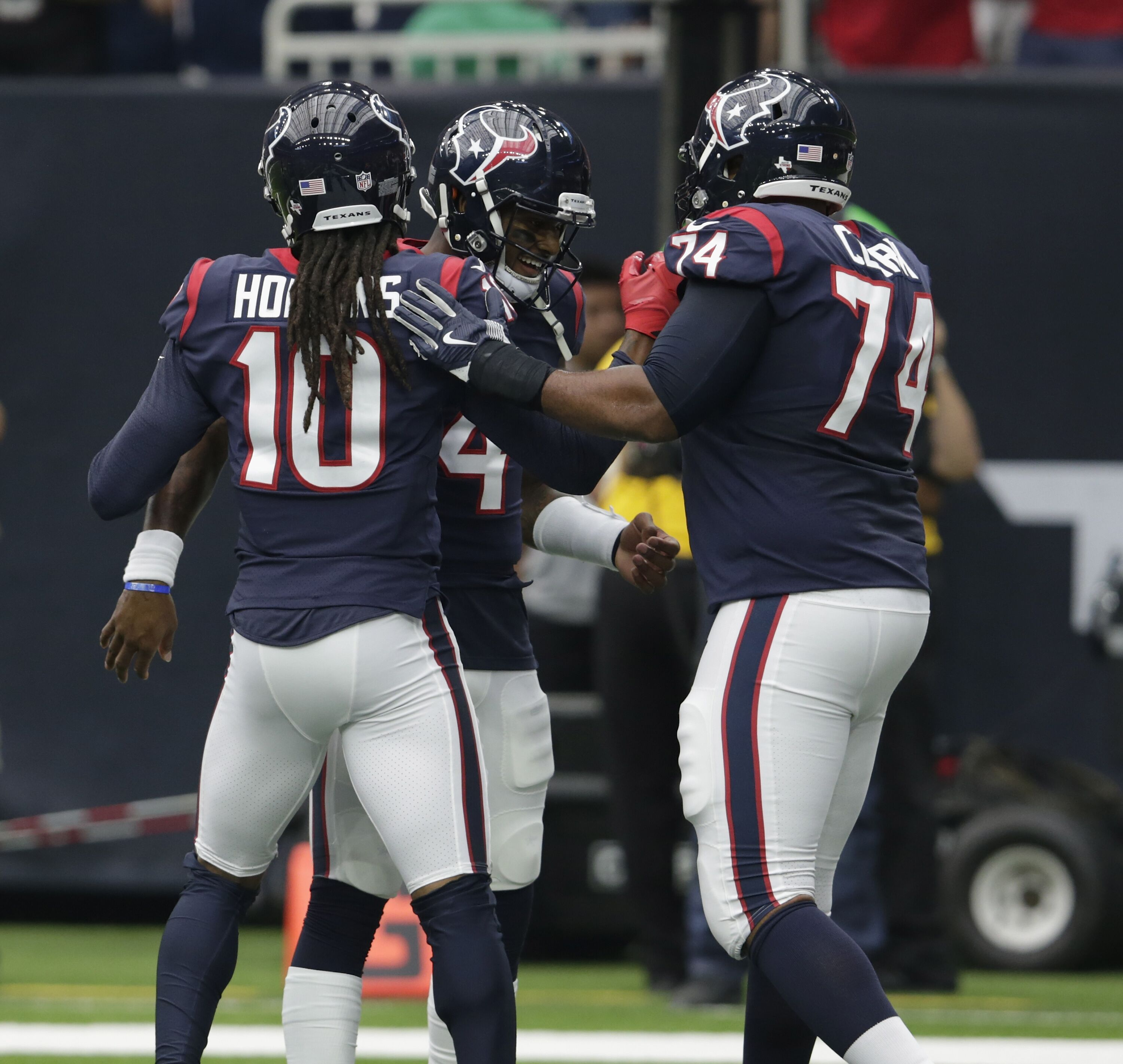 Houston Texans workout two offensive tackles ahead of Week 7