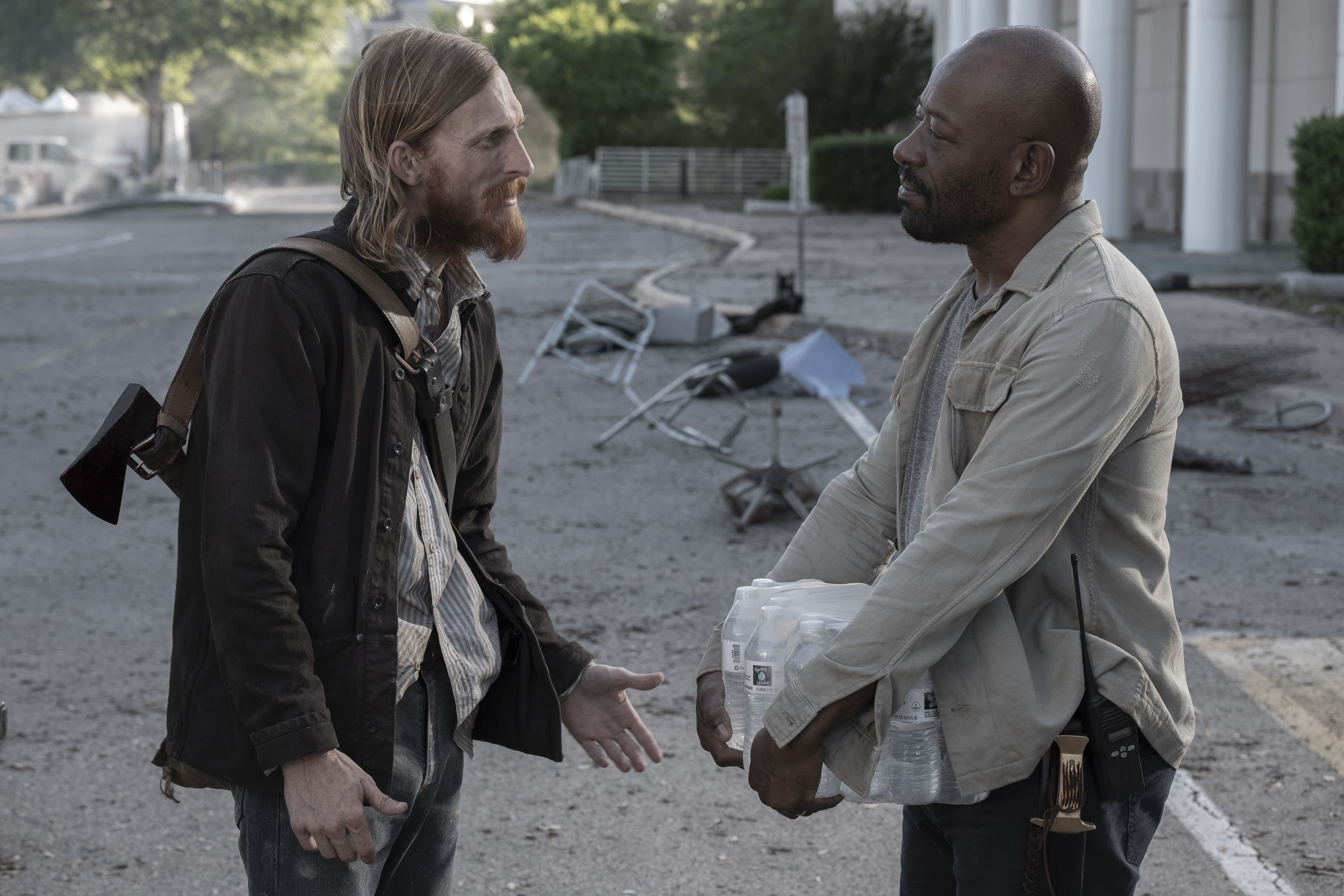 Lennie James has one regret about leaving The Walking Dead