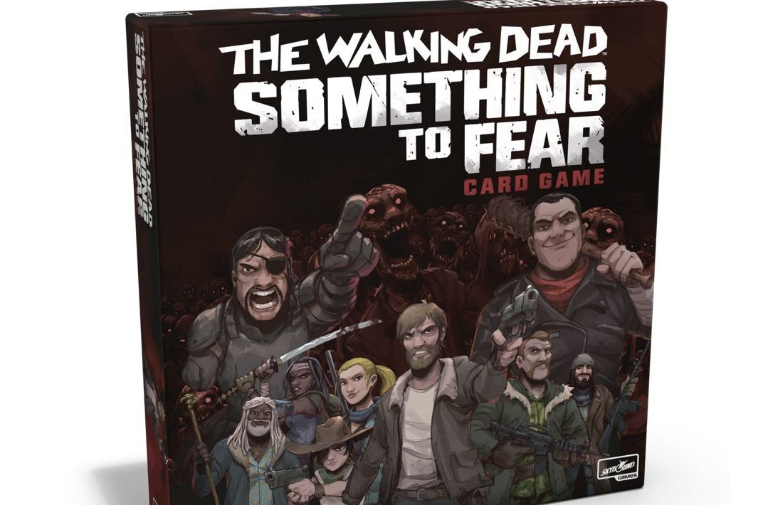 Skybound's The Walking Dead: Something to Fear card game available for pre-order