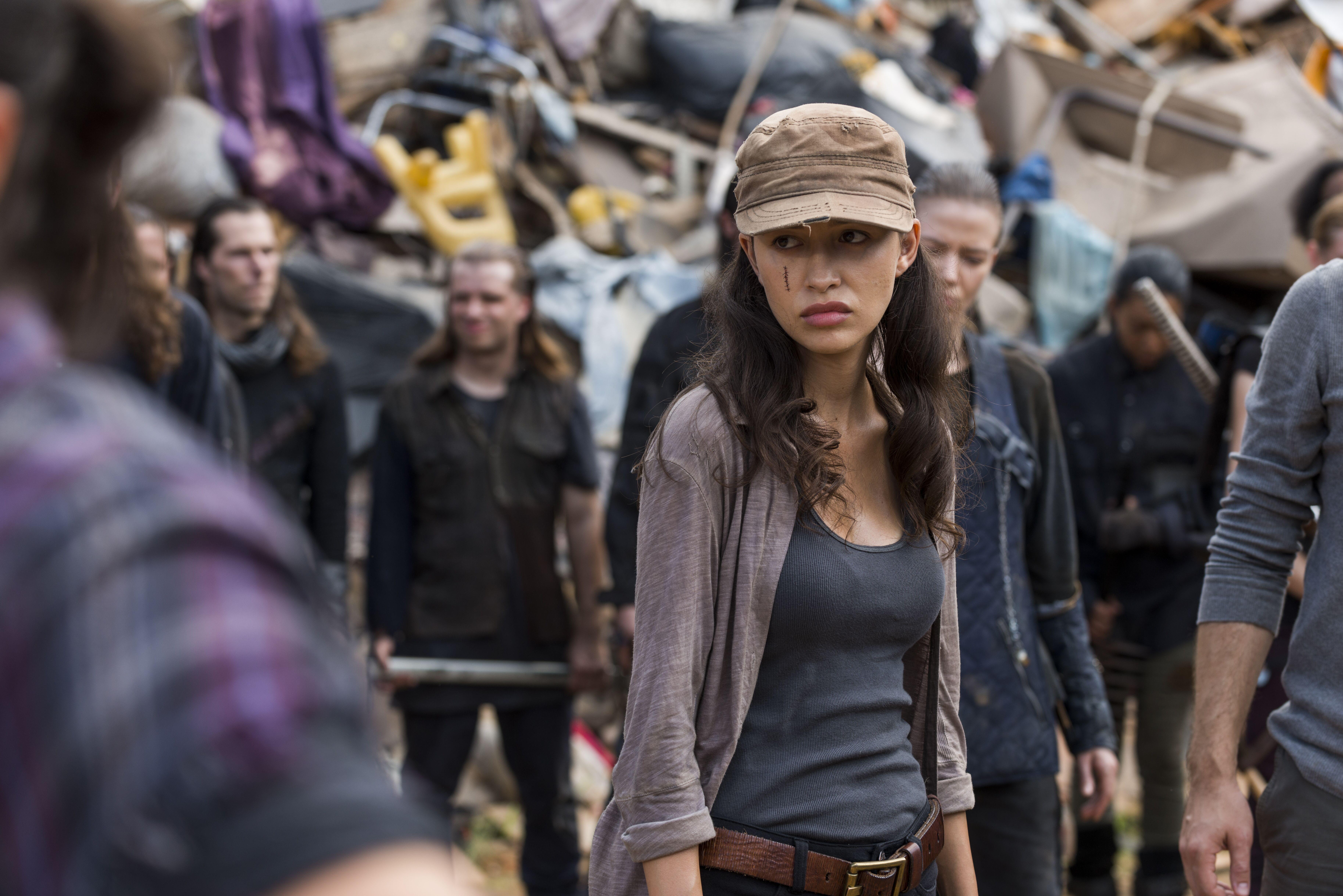 The Walking Dead Rosita Tot