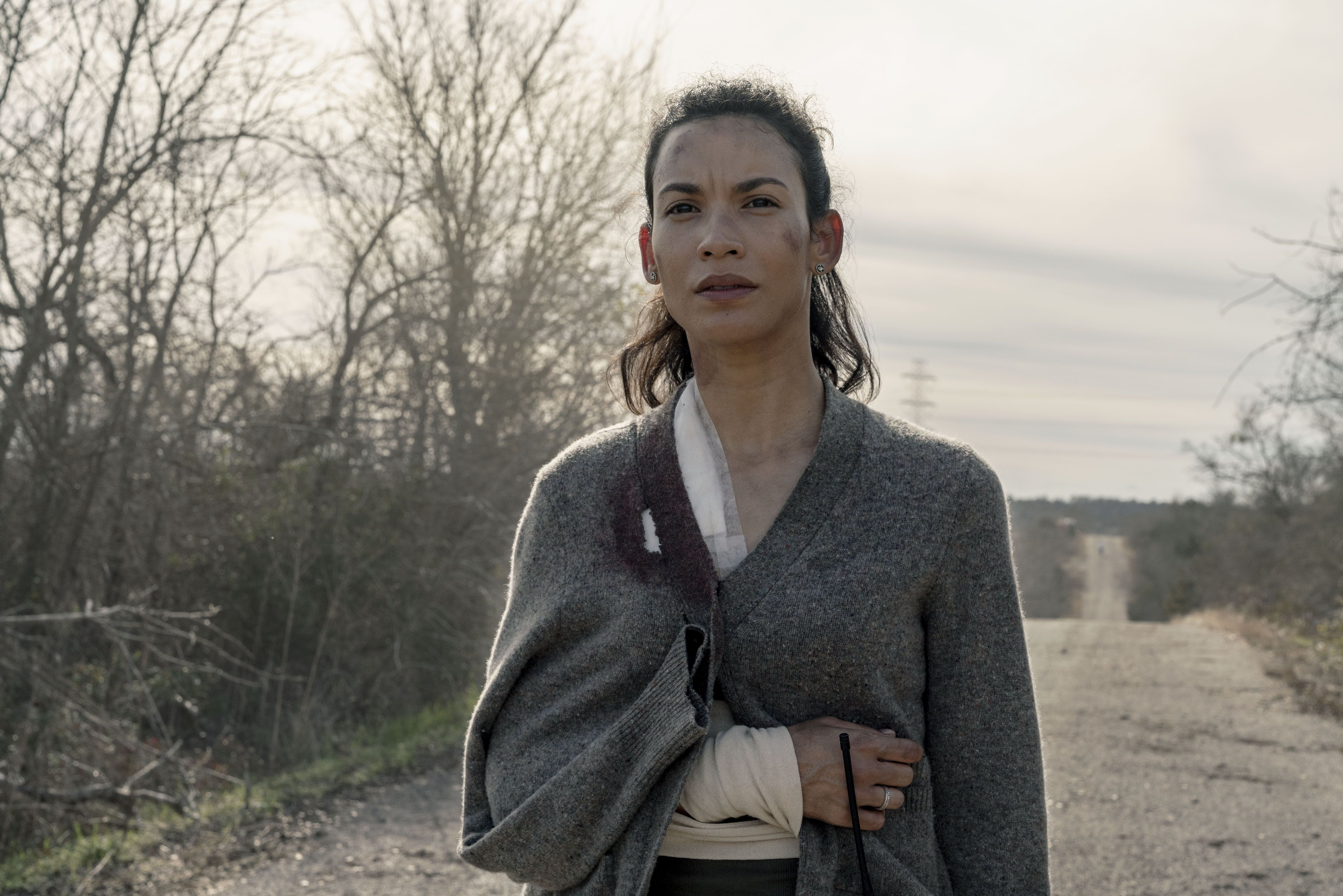 Fear the Walking Dead: Danay Garcia's roadtrip with a very special driver