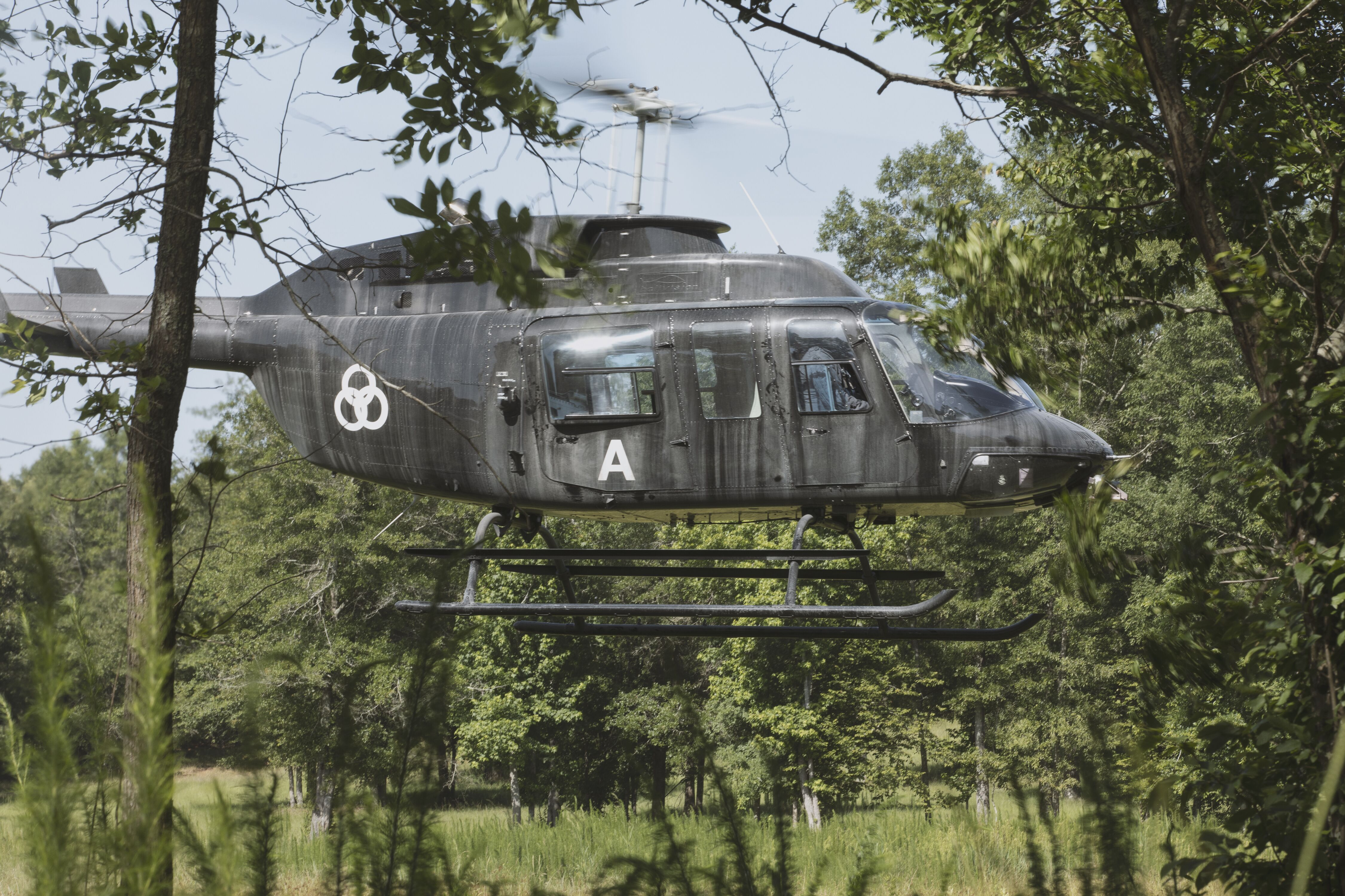 The Walking Dead Helicopter