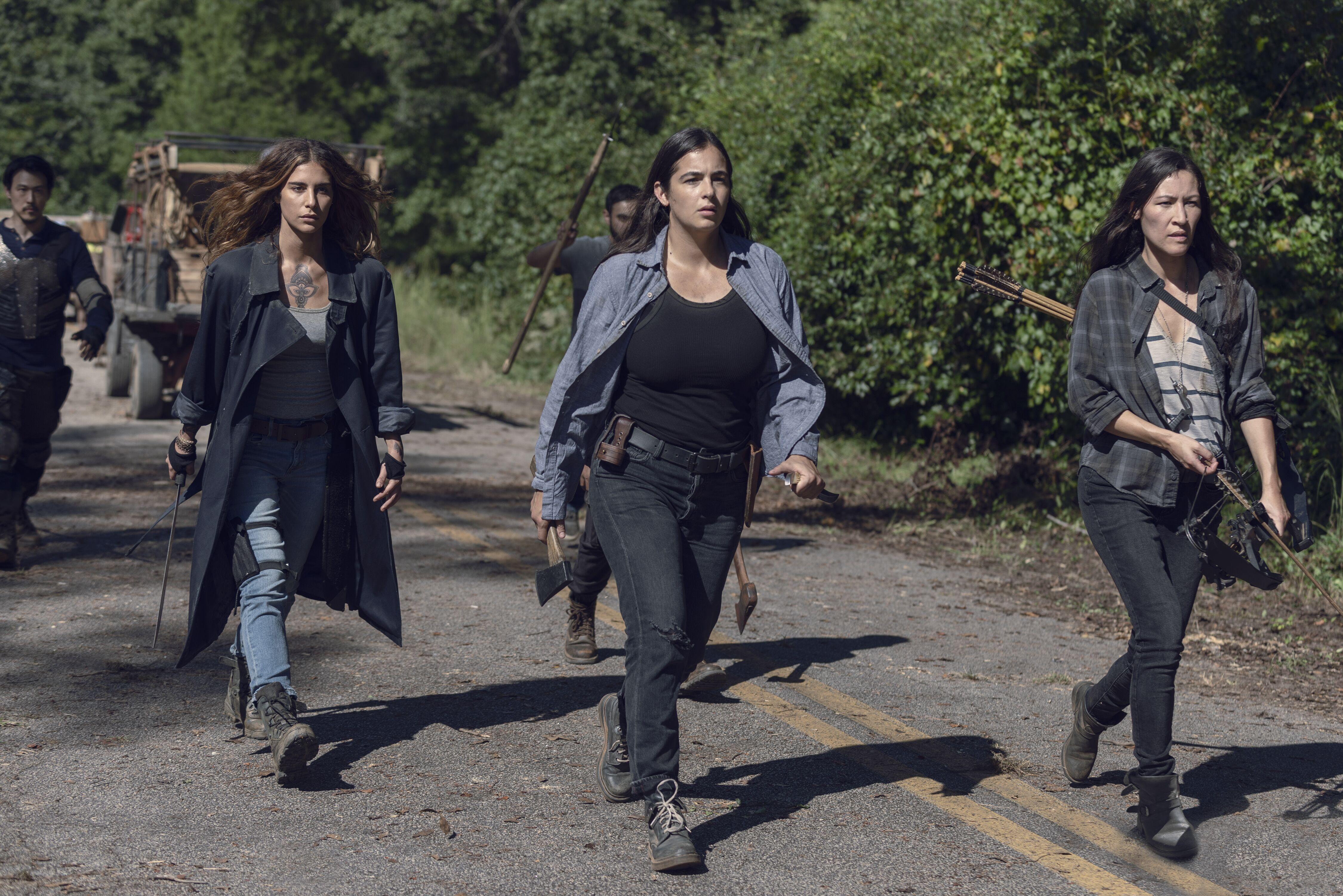 The Walking Dead season 10 without Tara