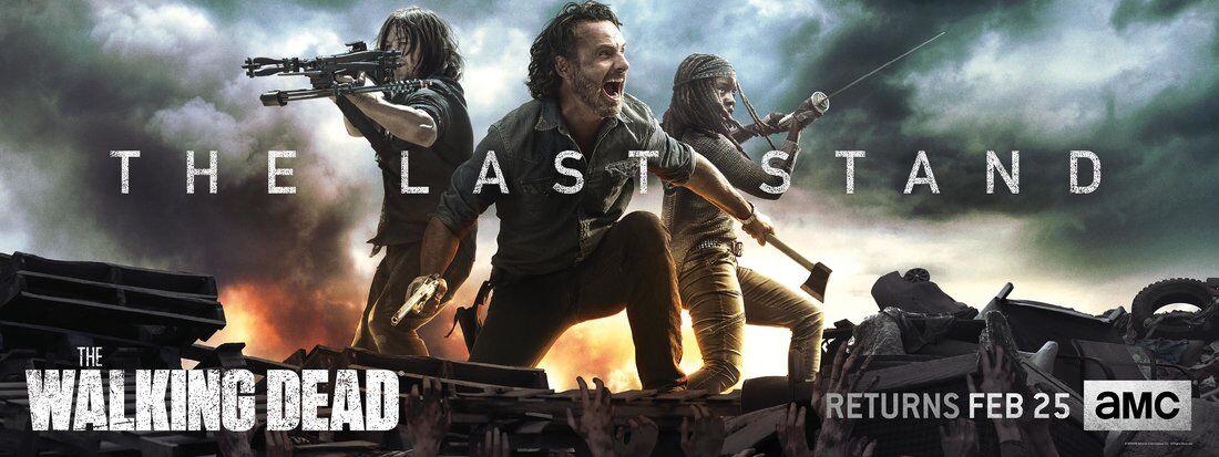 The Walking Dead characters make 'The Last Stand' in season 8B key art