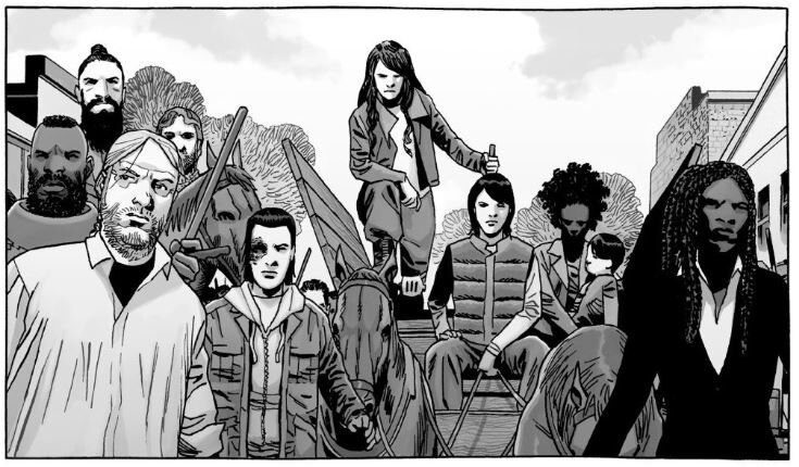 The Walking Dead graphic novels selling well despite series ending