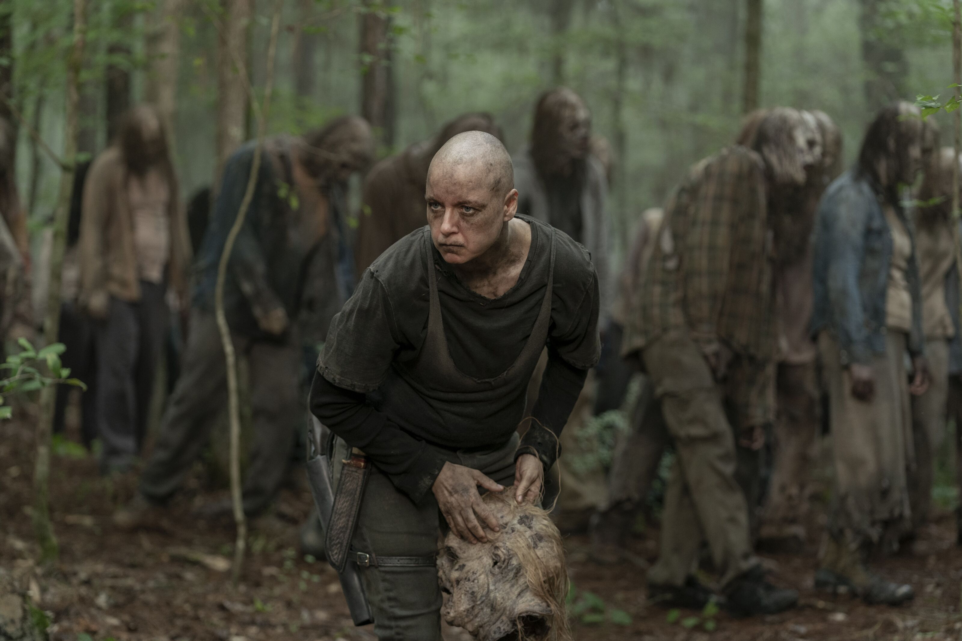 The Walking Dead panel: The danger of Alpha's lie about Lydia