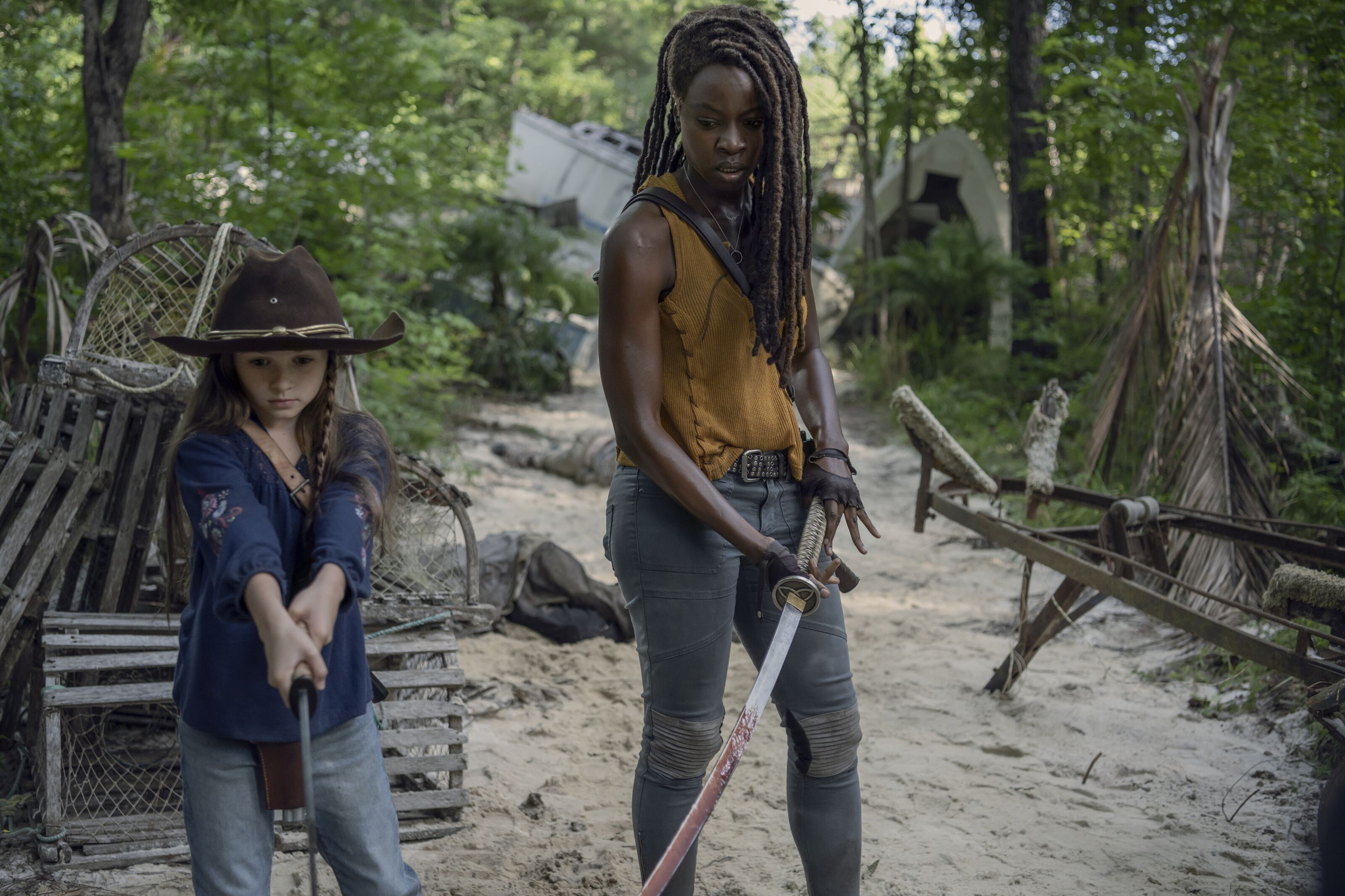 The Walking Dead 1008 synopsis: The World Before