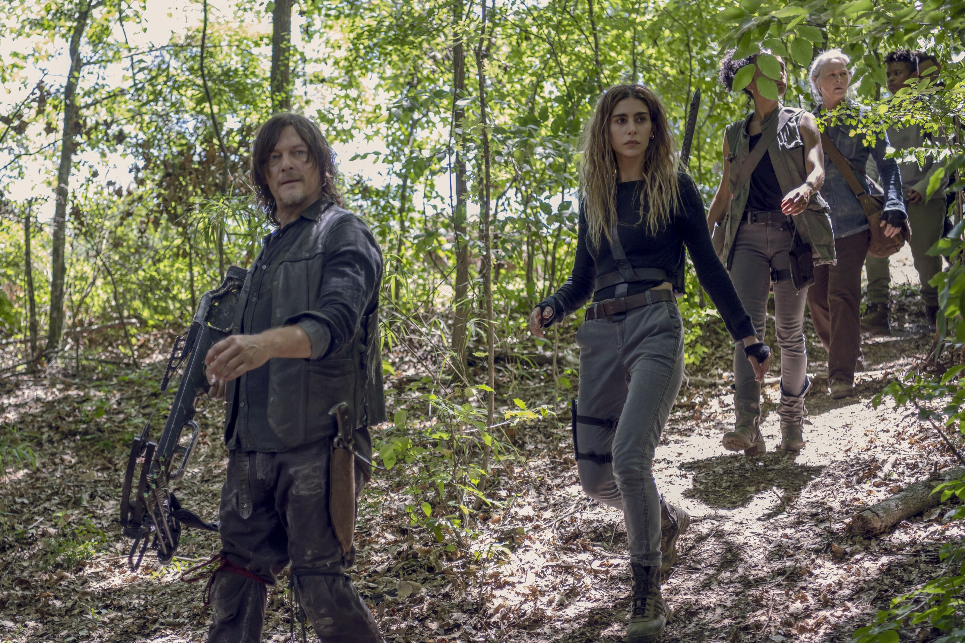 What will happen with the survivors in the cave on The Walking Dead?