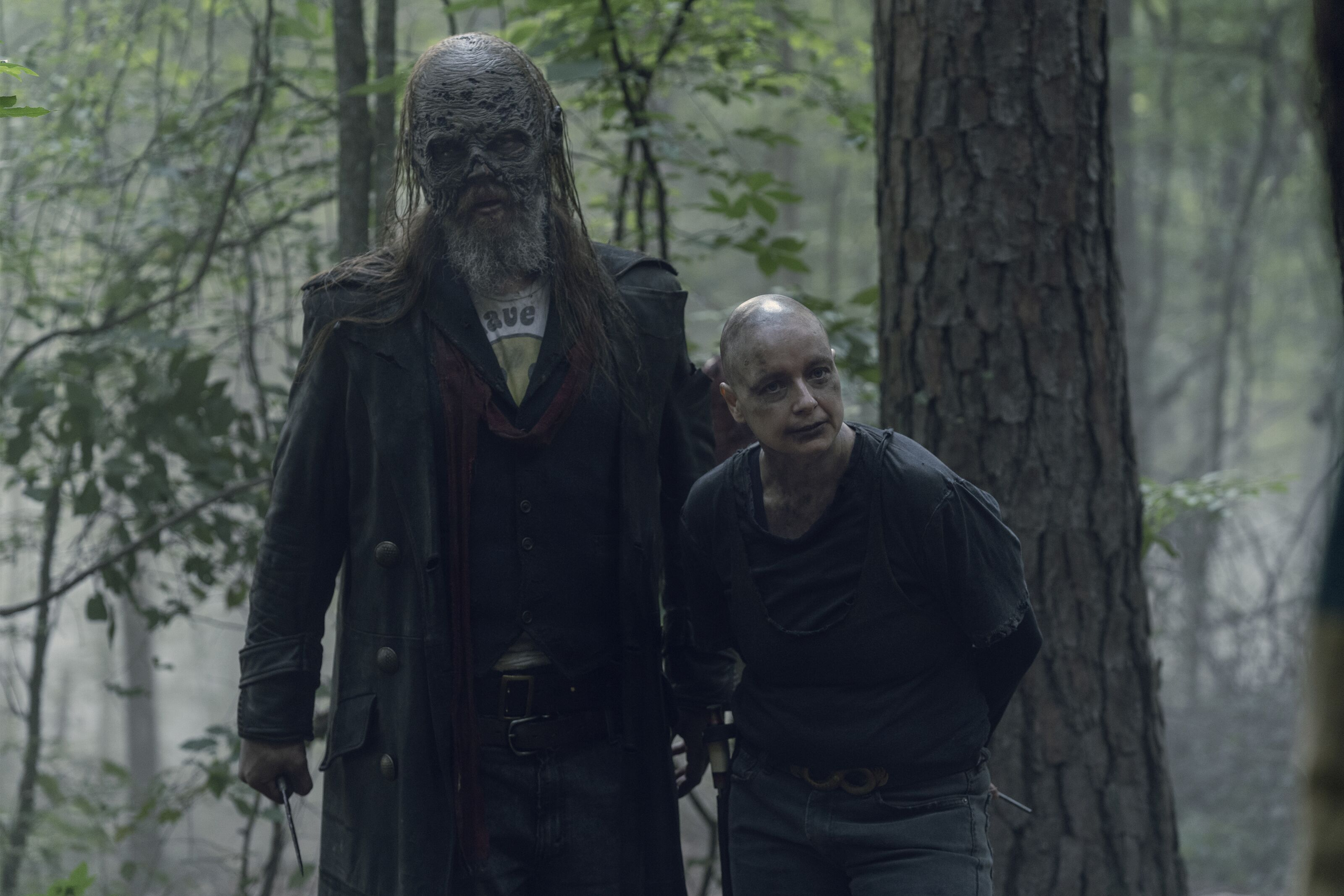 Who should lead the Whisperers on The Walking Dead: Alpha or Beta?