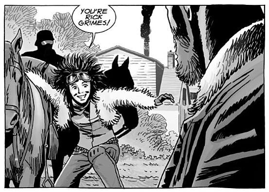 The walking dead comic issue 186: cover analysis of the powder keg.