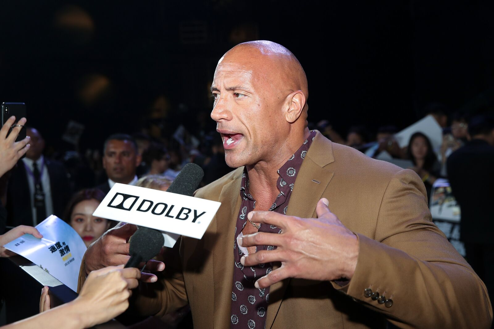 The Rock jokes about The Walking Dead crossover with Hobbs and Shaw