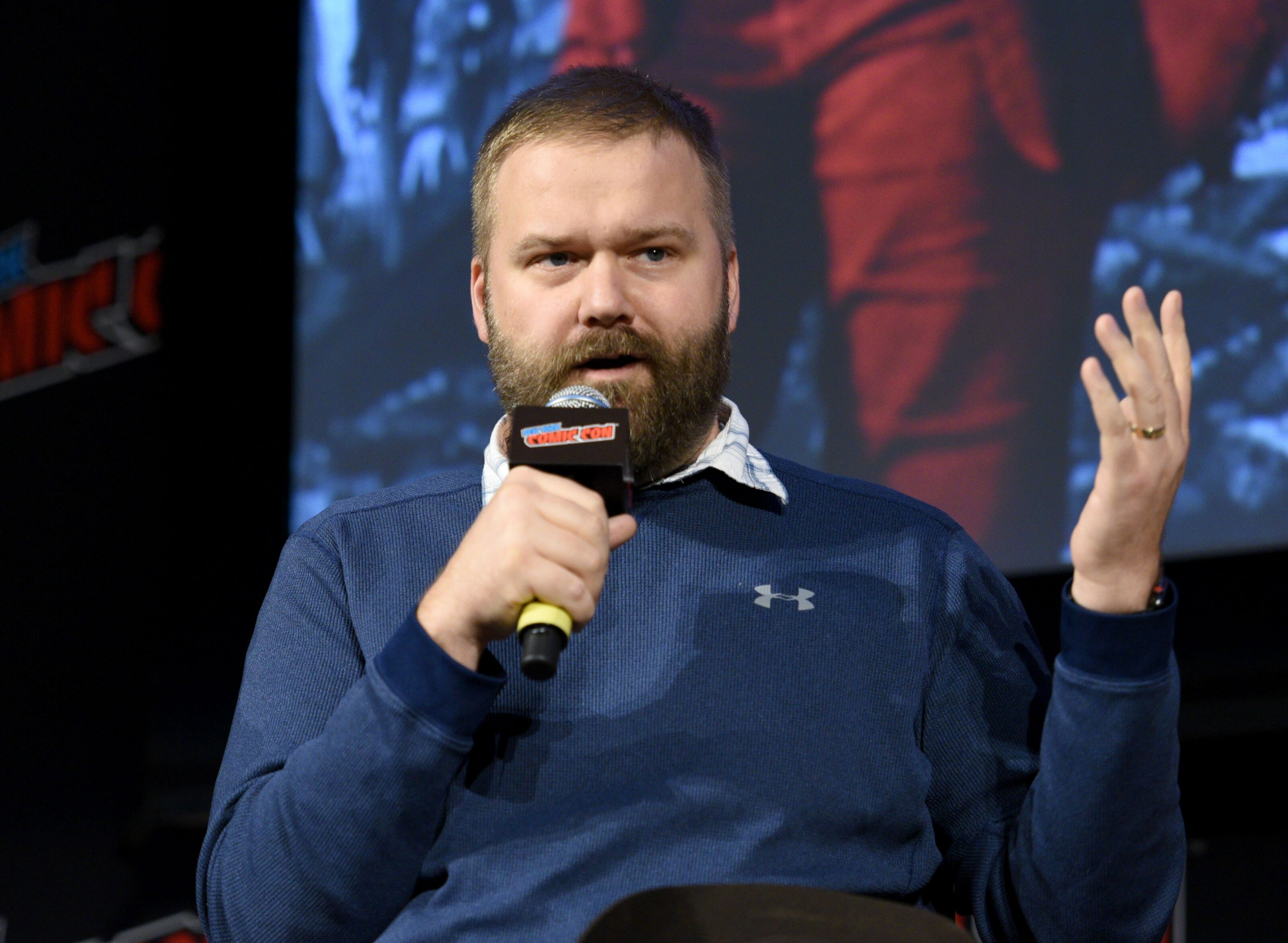 Robert Kirkman continues to joke about The Walking Dead origin
