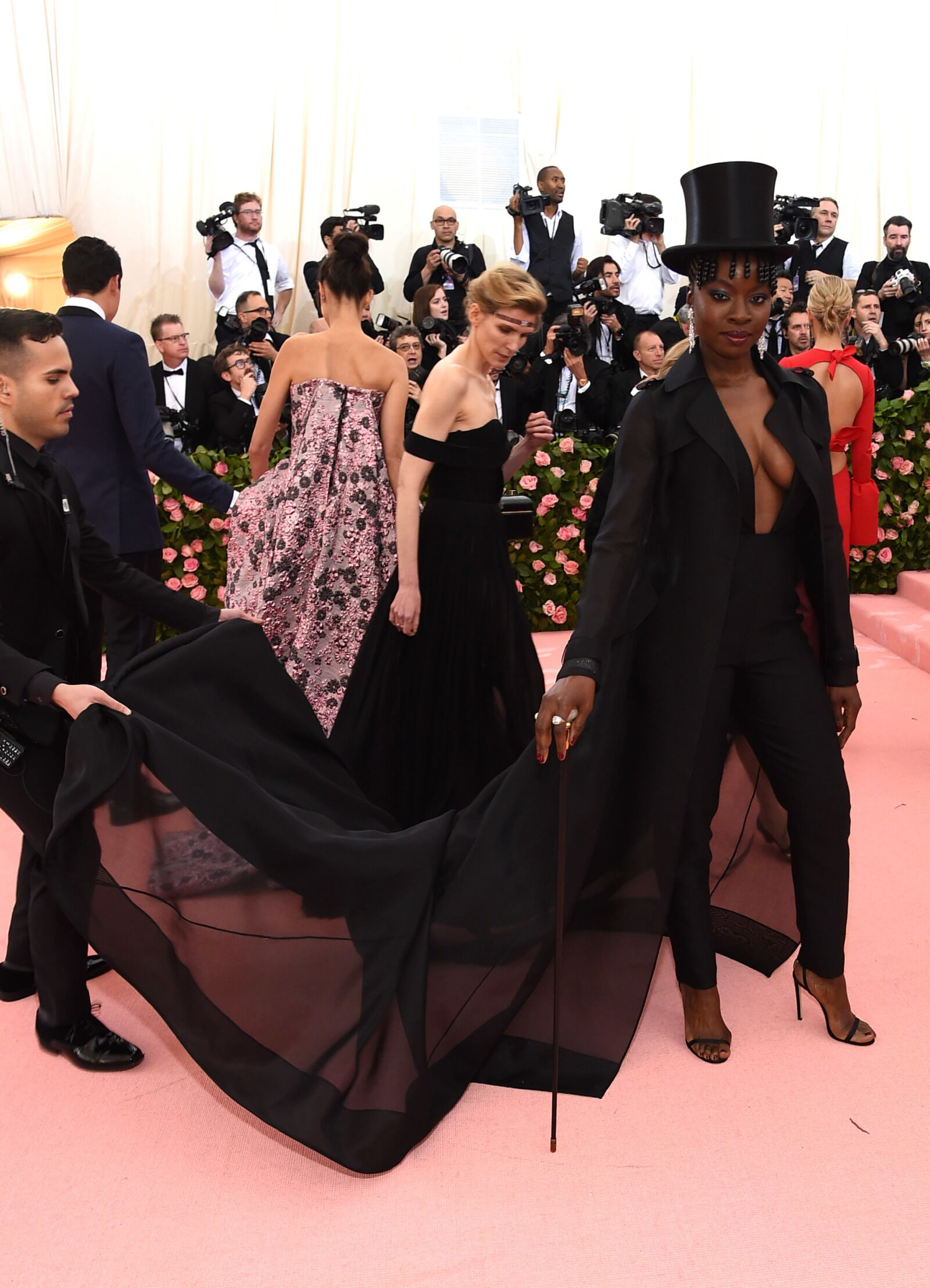 The Walking Dead's Danai Gurira and that wicked Met Gala look