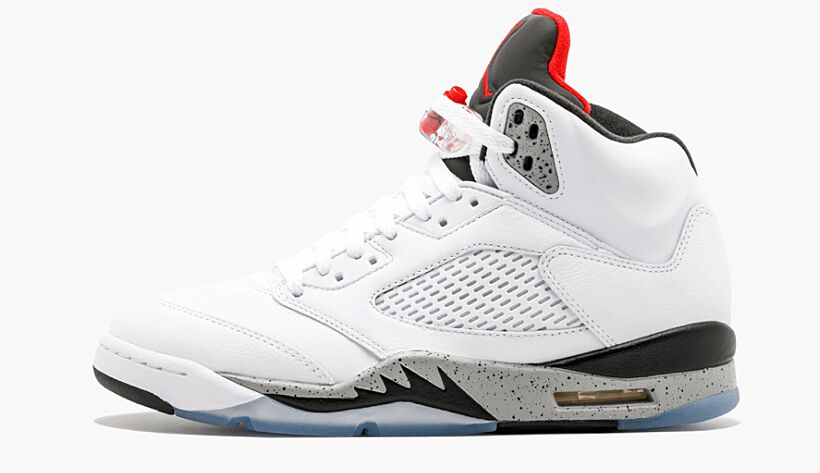 more photos aadf4 ce5d0 The  White Cement  Air Jordan V got an early online release