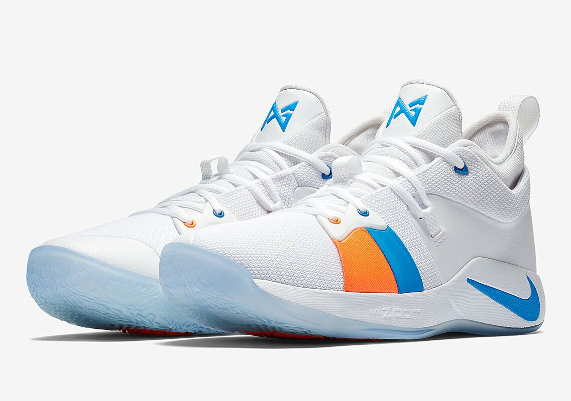 new style 0cdaf a9593 Here's how Nike PG2 The Bait II honors Paul George's love ...