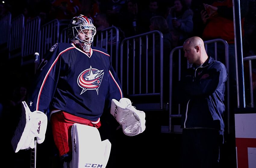 Columbus Blue Jackets Starting Line Up Questions