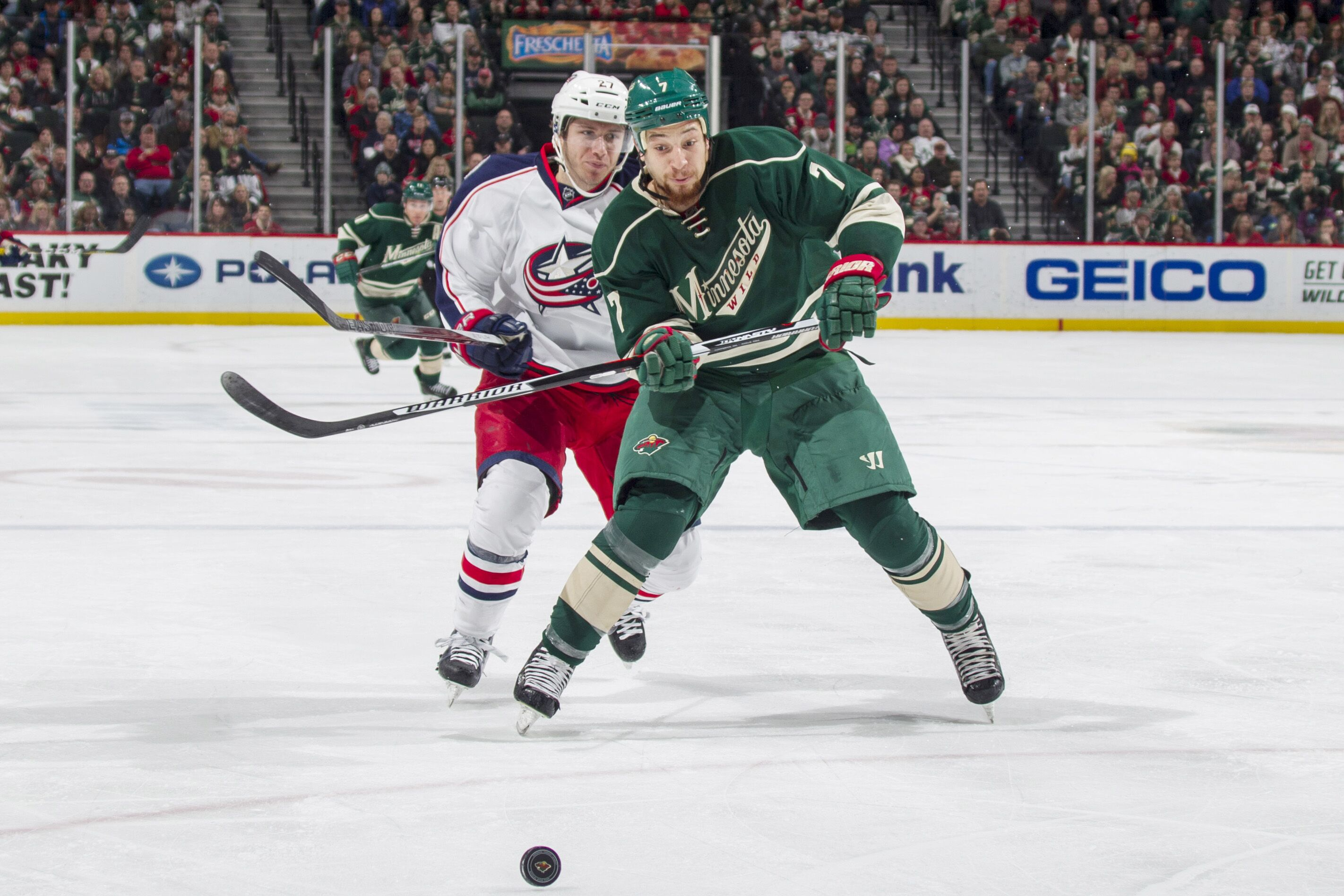 Columbus Blue Jackets at Minnesota Wild: TV, Radio, Lineups and ...