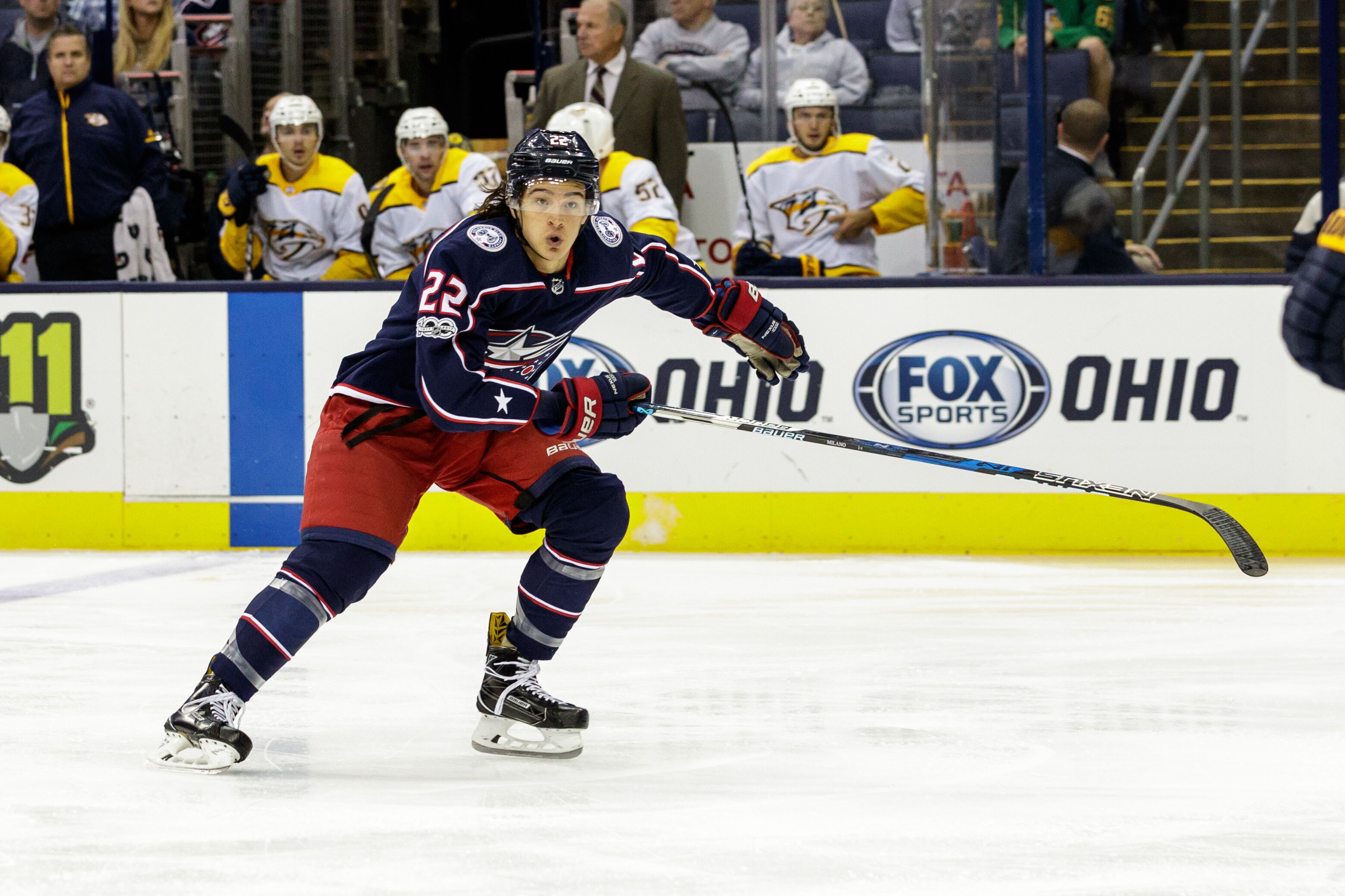 Columbus Blue Jackets vs. Nashville Predators: Injuries, Lines and ...