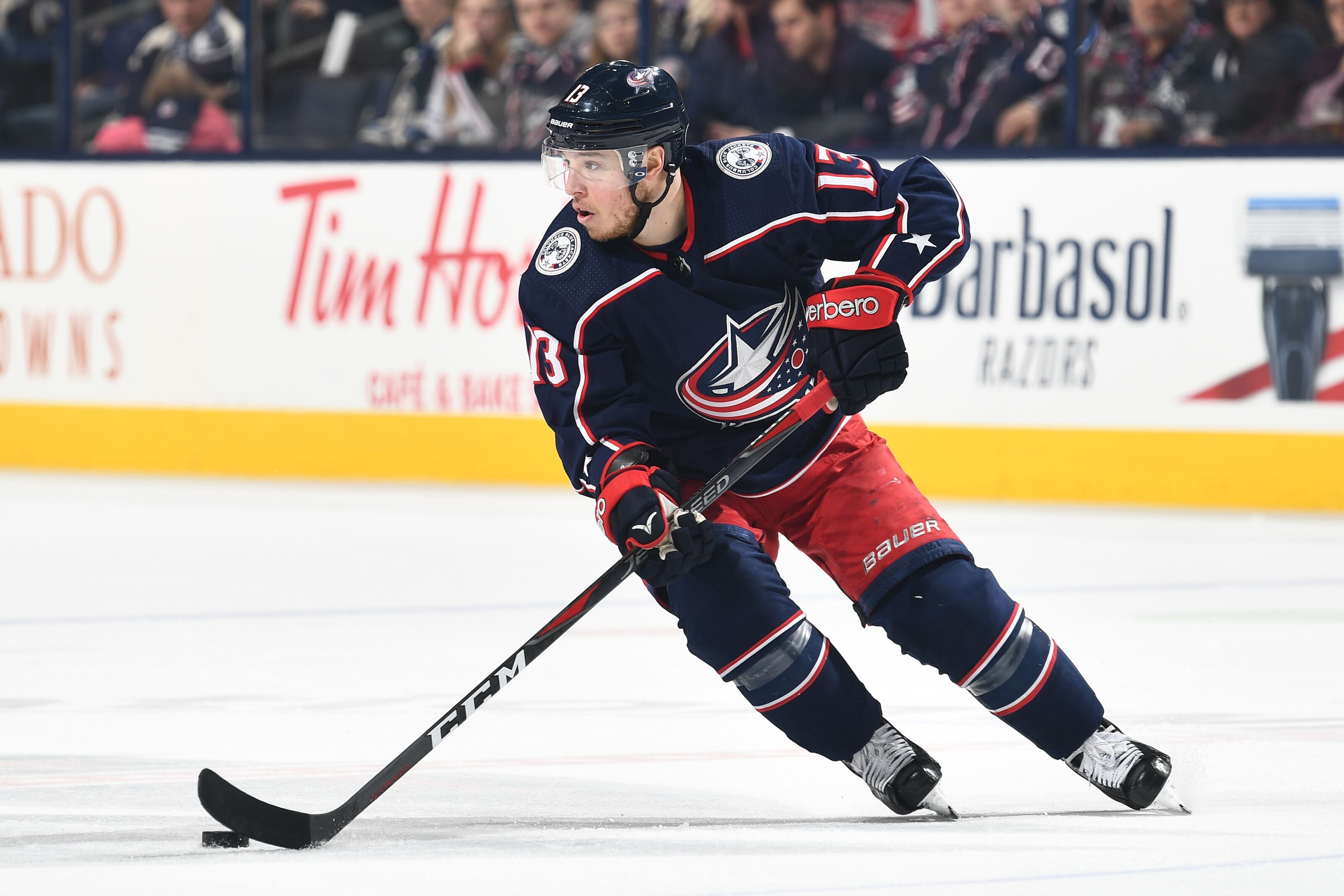 5cc99d0ddda Columbus Blue Jackets Cam Atkinson still hasn t touched his celing