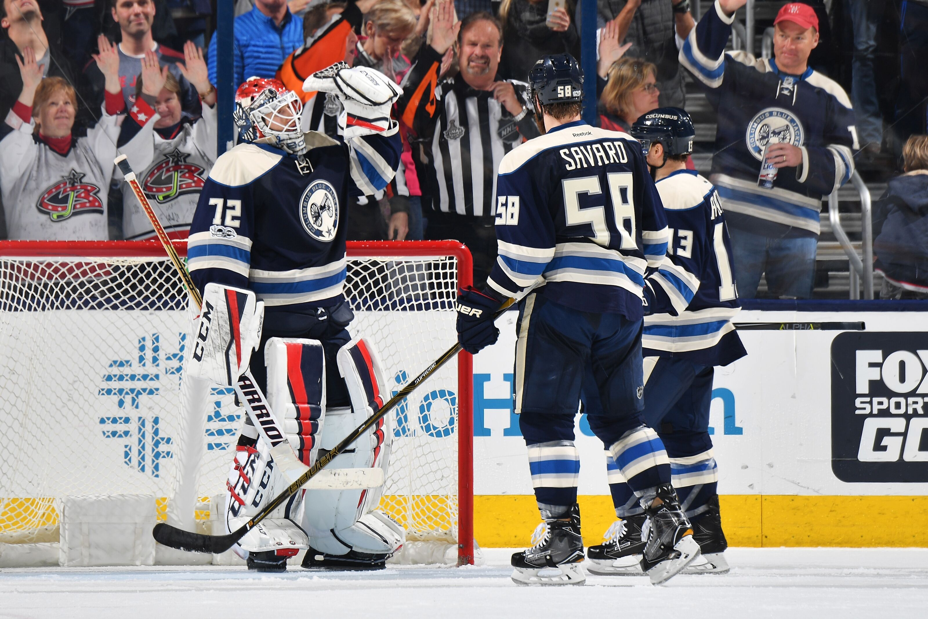 timeless design d194f 37c32 Columbus Blue Jackets: Third Jersey Looks Familiar