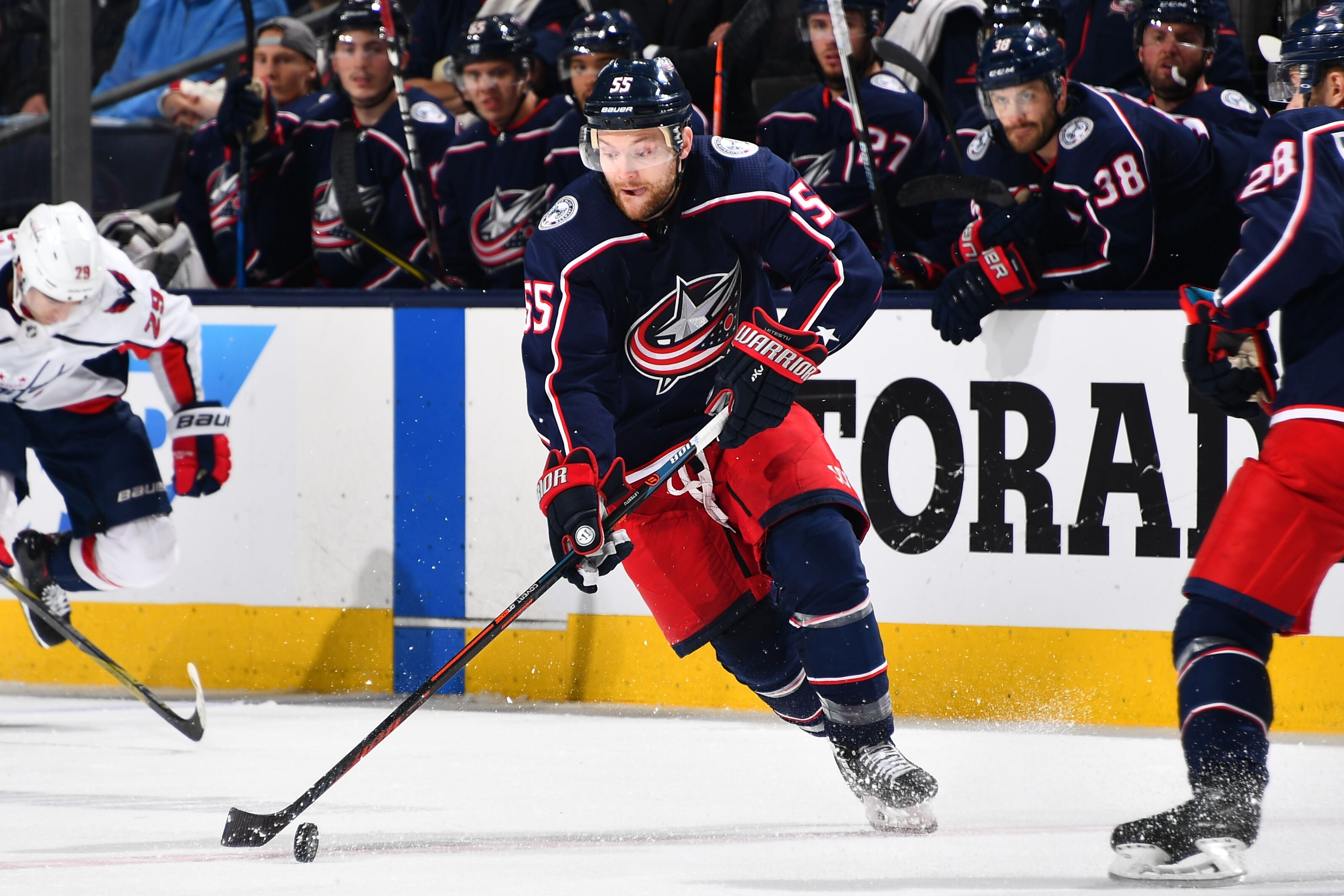 sale retailer 1bfca 61f85 Columbus Blue Jackets: Mark Letestu Returns for his 3rd Stint