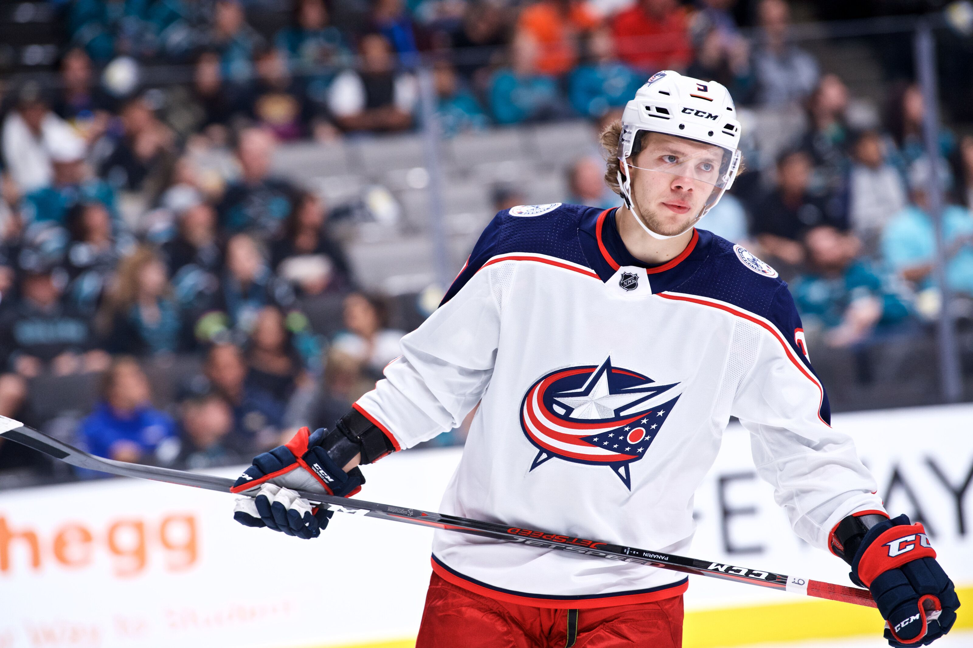 panarin artemi jackets columbus quietly team leads points