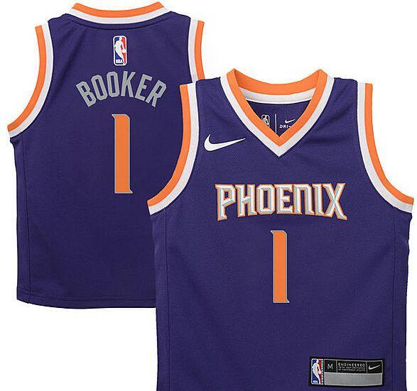 066eeefeb Devin Booker Phoenix Suns Nike Swingman Jersey – City Edition