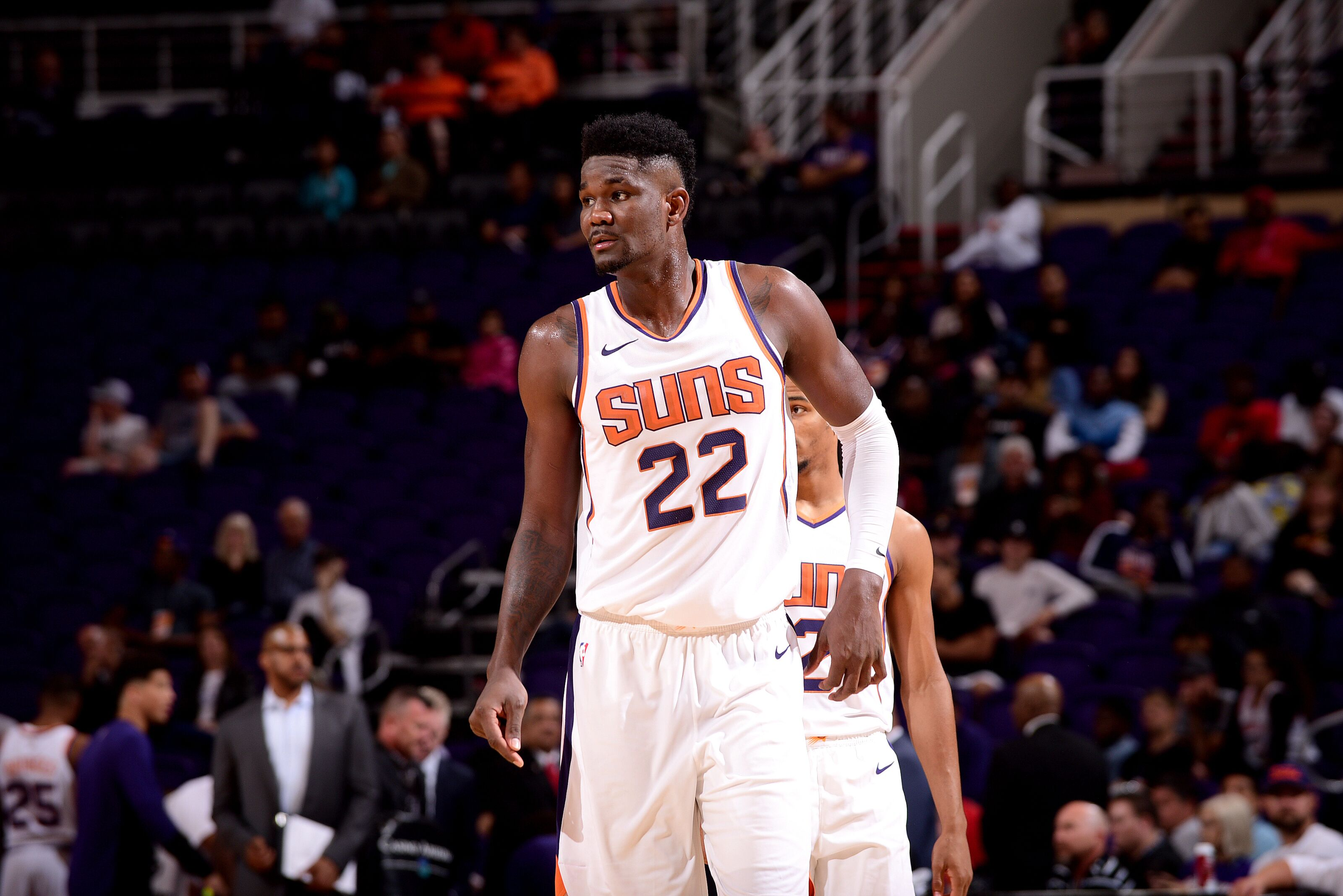 size 40 a7ee9 3dfc3 Phoenix Suns rookie Deandre Ayton had the kind of debut we ...