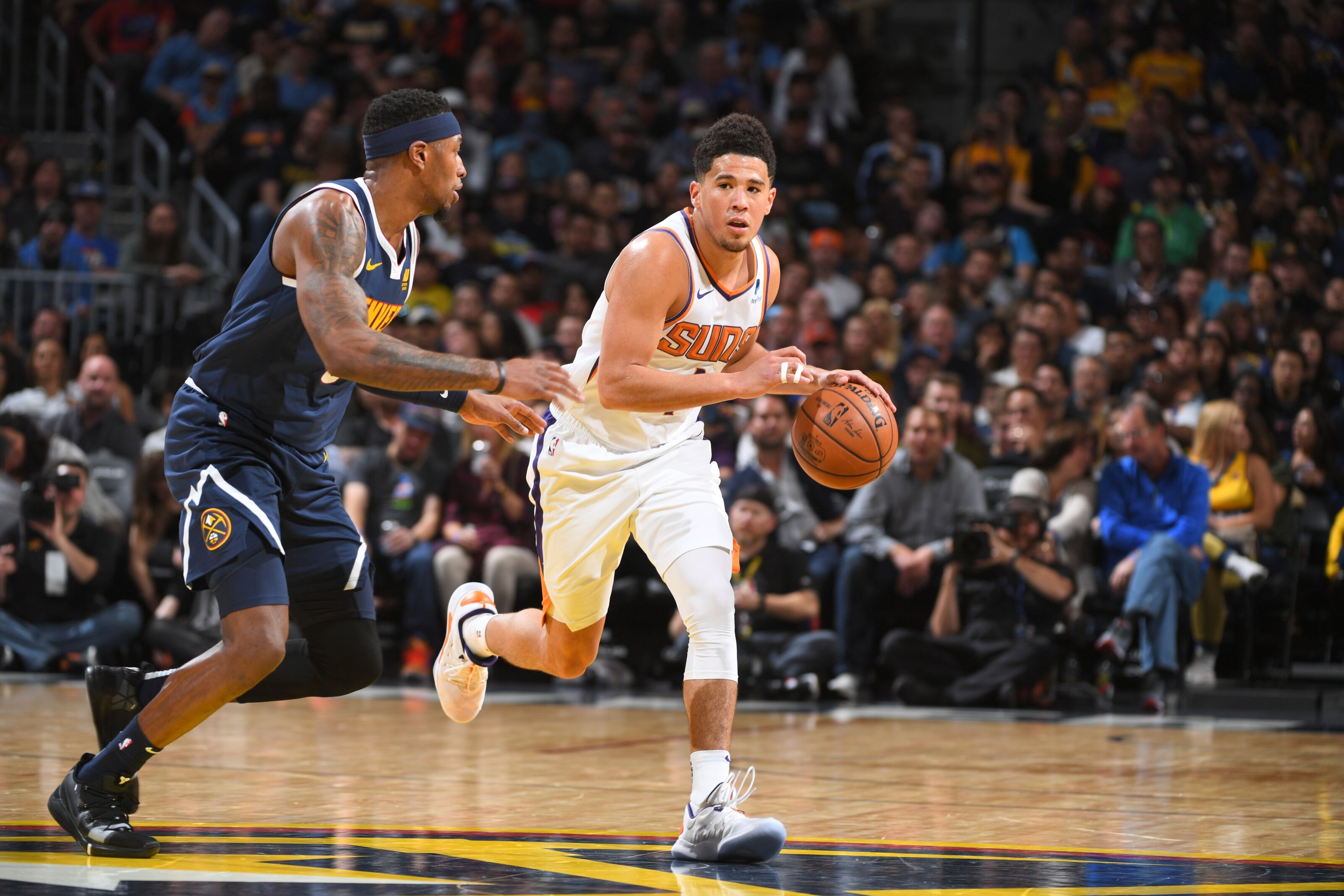 a6d61ef8caa Point guard Devin Booker is doing good for Phoenix Suns - Valley of the Suns