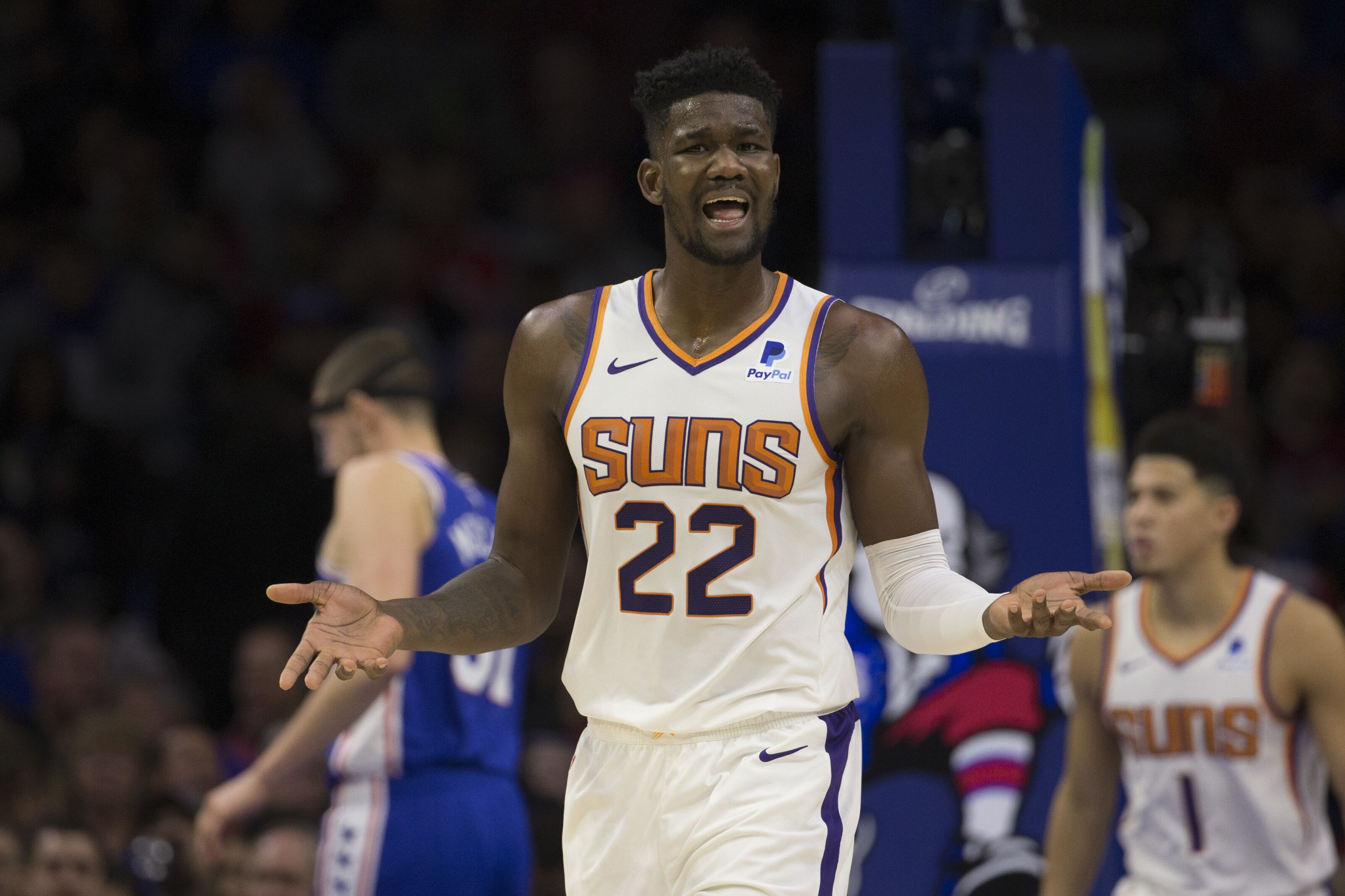 Deandre Ayton is not playing like a number one pick for ...