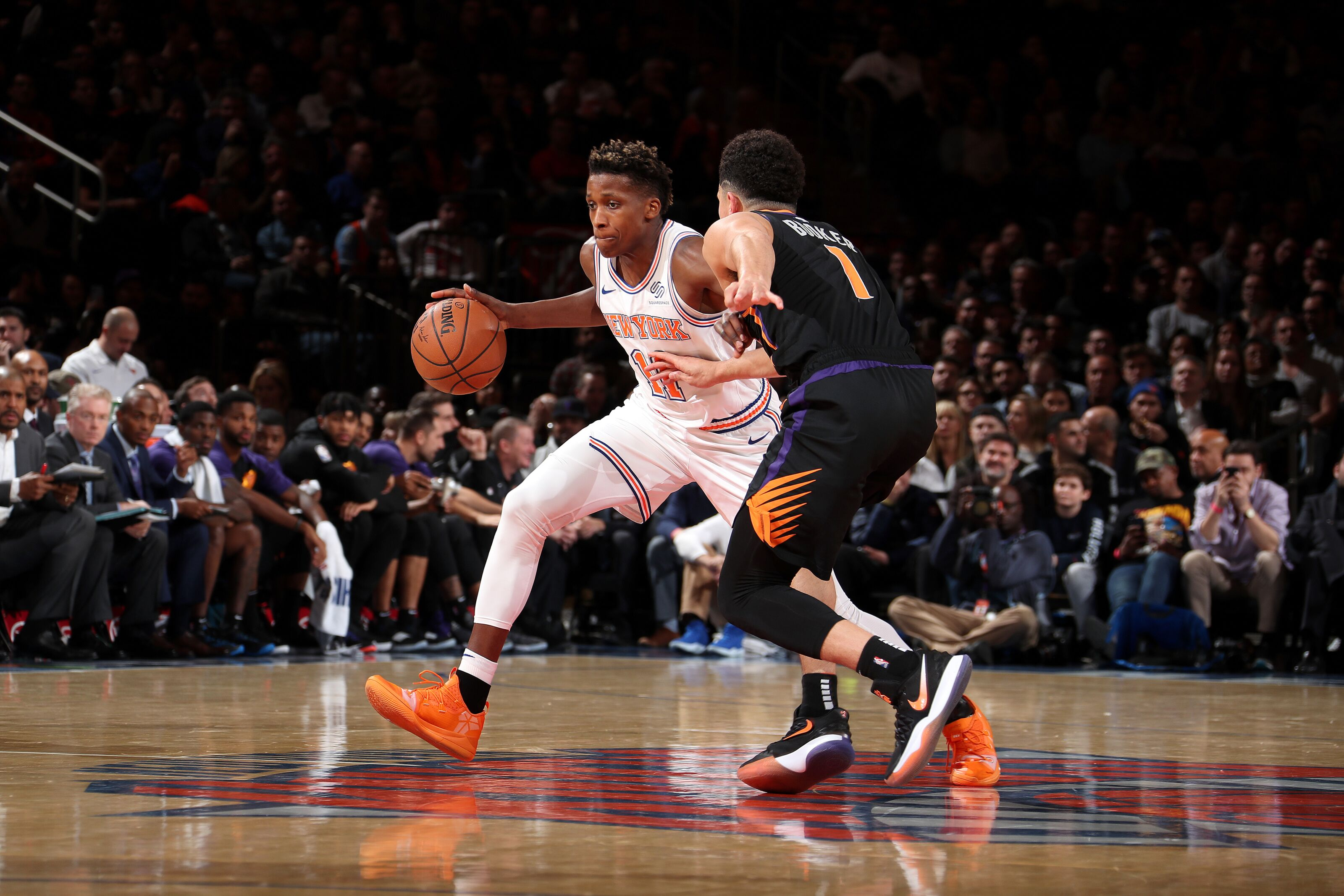 The Phoenix Suns should trade their second round pick for Frank Ntilikina