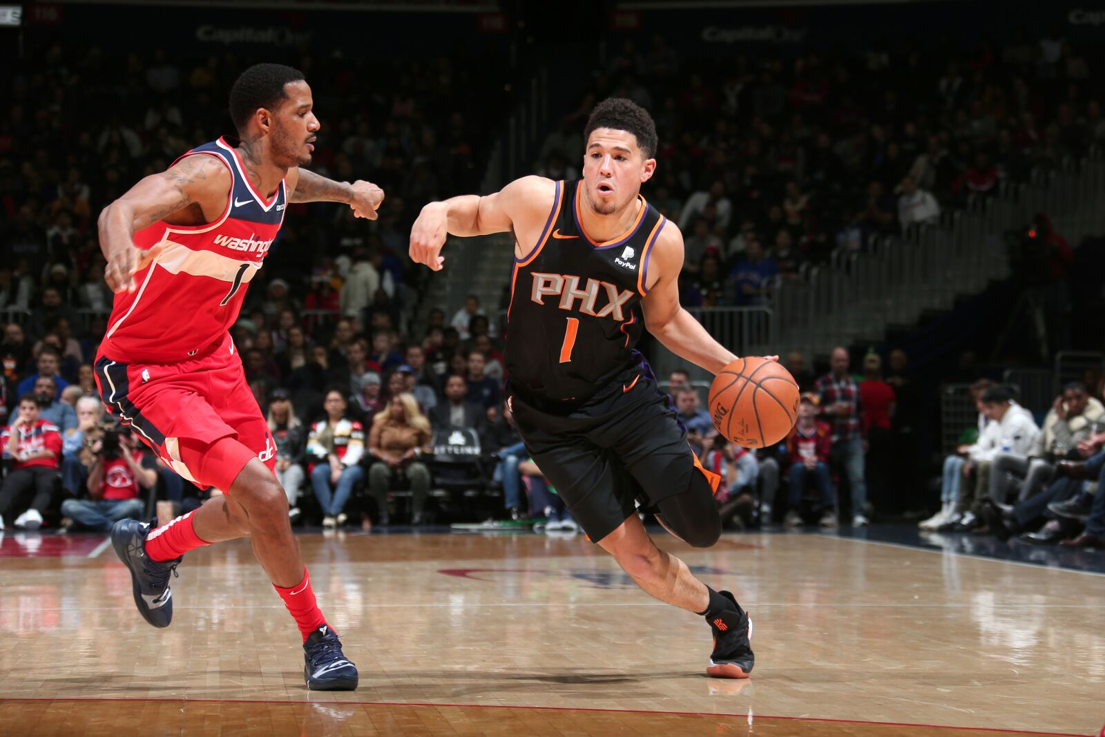 4ac404f0f Phoenix Suns  3 New Year s resolutions for Devin Booker - Valley of ...