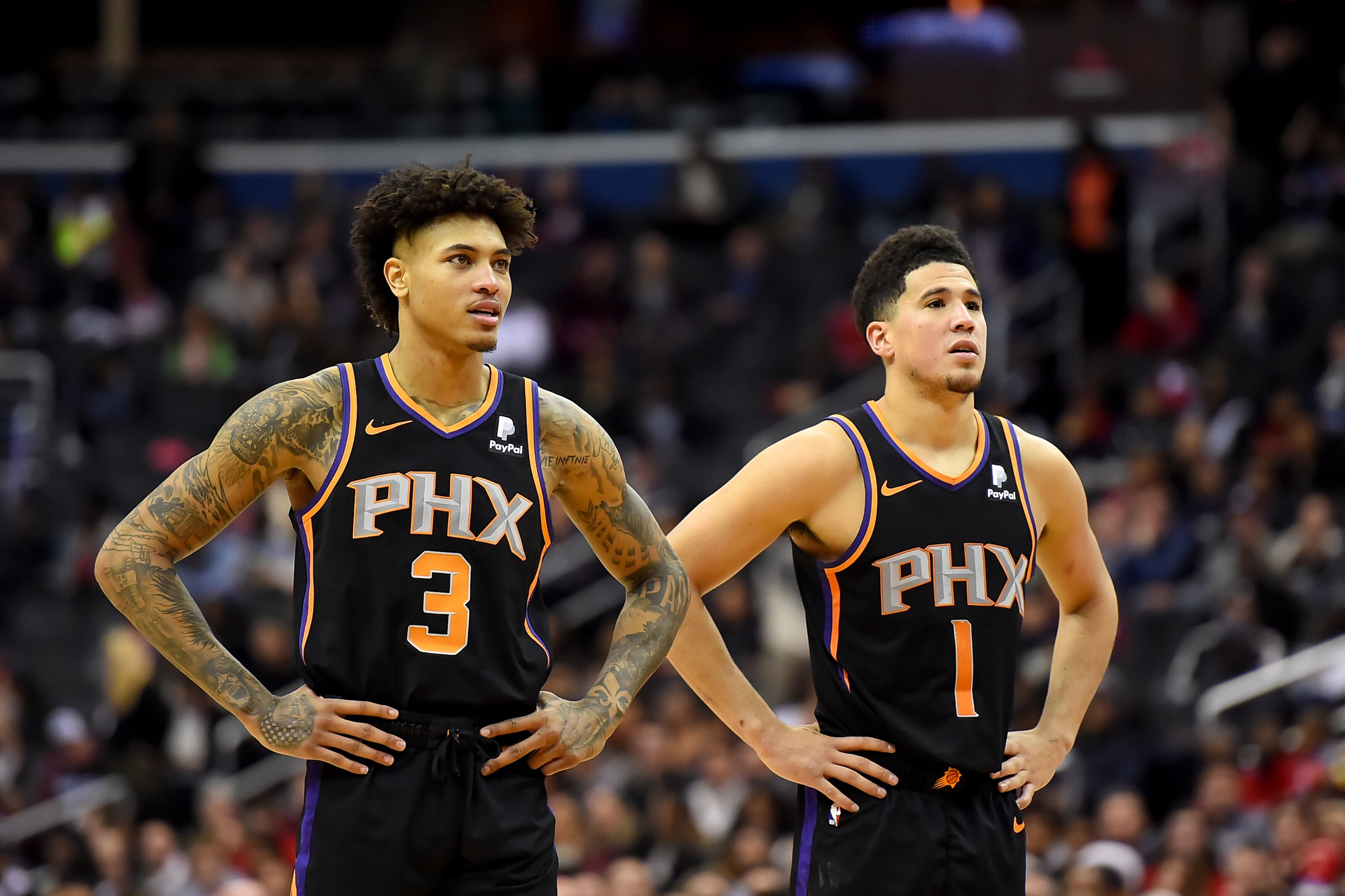 pretty nice b66fc 5ec81 ValleyBoyz: How Kelly Oubre has changed the Phoenix Suns ...