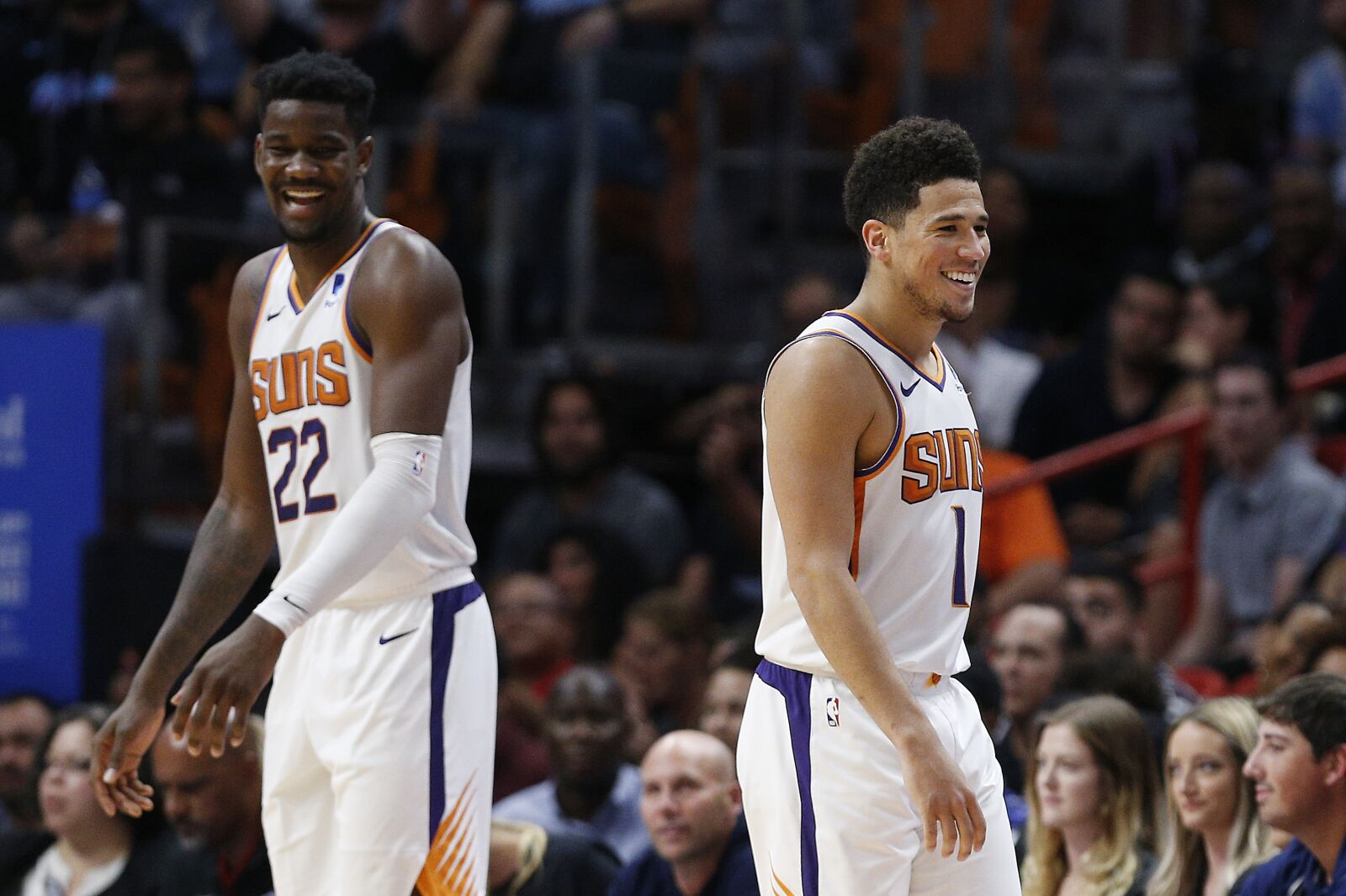 Comparing Booker and Ayton to the NBA's top duos