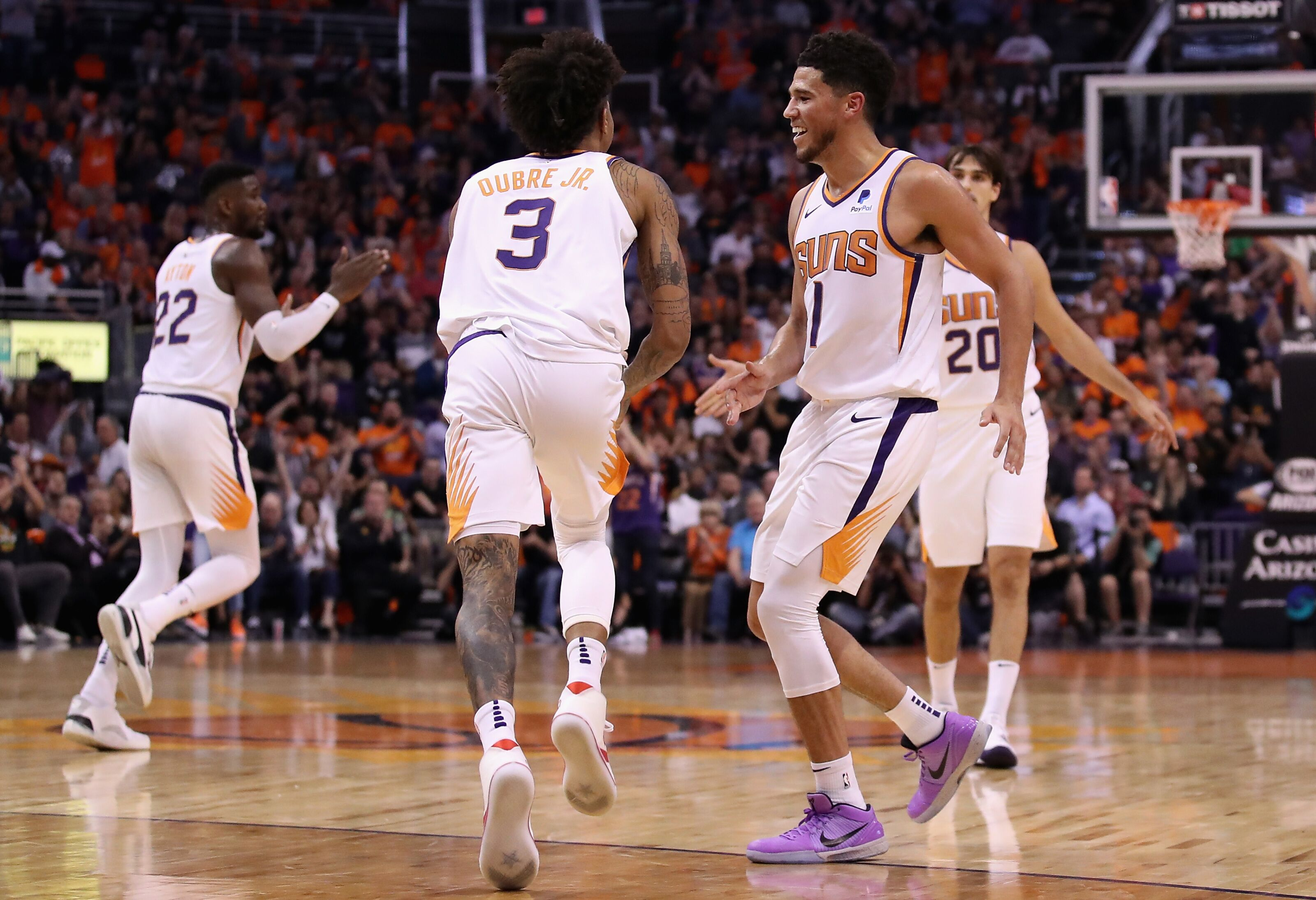 5 ways the Phoenix Suns' 2018 and 2019 opening nights are ...Suns
