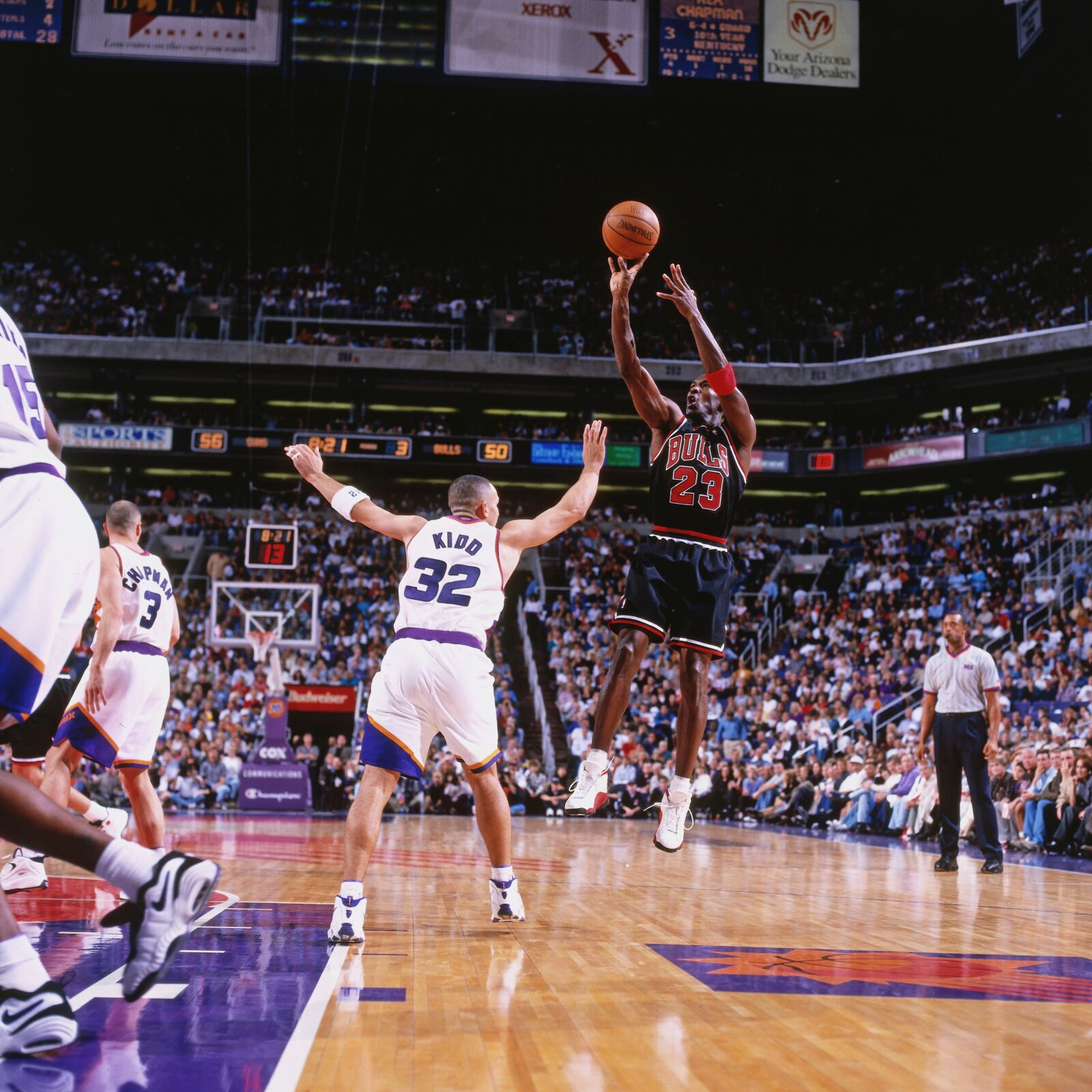 Michael Jordan's last game in Phoenix against the Suns with